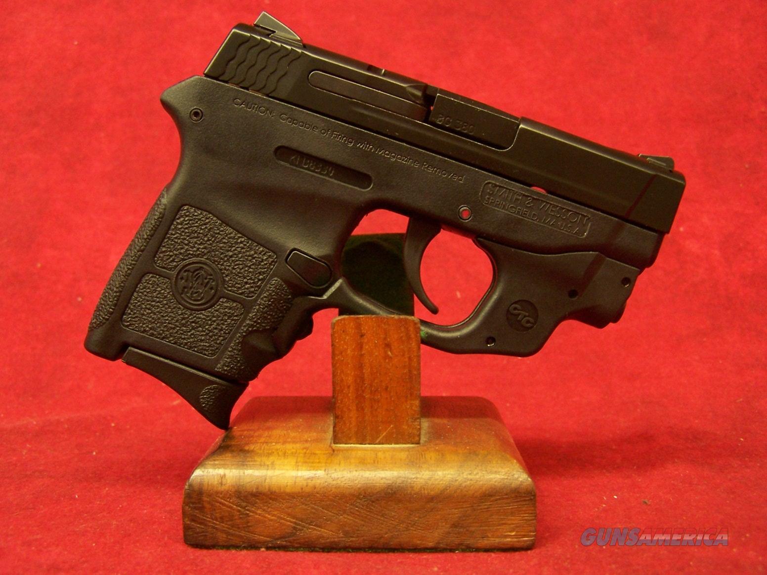"Smith & Wesson M&P Bodyguard Green Crimson Trace .380 Auto 2.75"" Barrel (10178)  Guns > Pistols > Smith & Wesson Pistols - Autos > Polymer Frame"