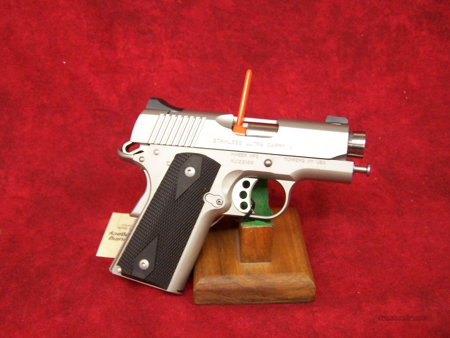 Kimber Stainless Ultra Carry II .45ACP(32062)  Guns > Pistols > Kimber of America Pistols
