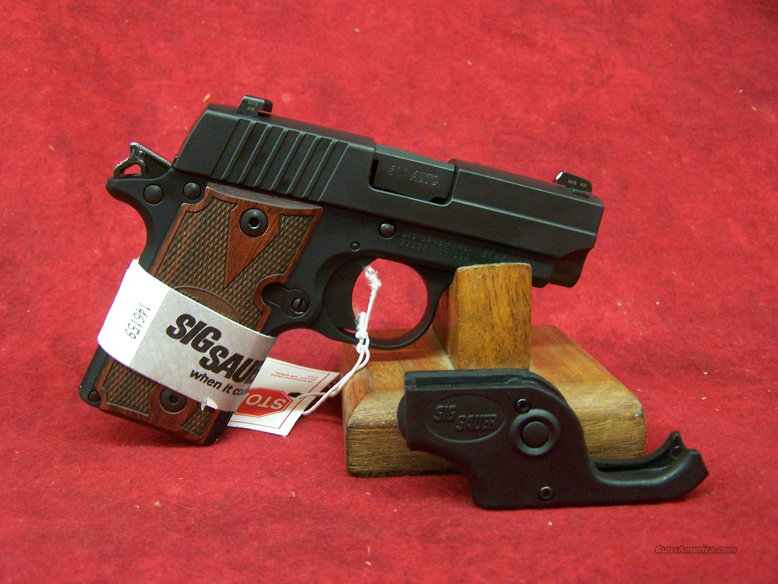 Sig Sauer P238 .380 ACP Rosewood w/Laser  (238-380-RG-LSR)  Guns > Pistols > Sig - Sauer/Sigarms Pistols > P238