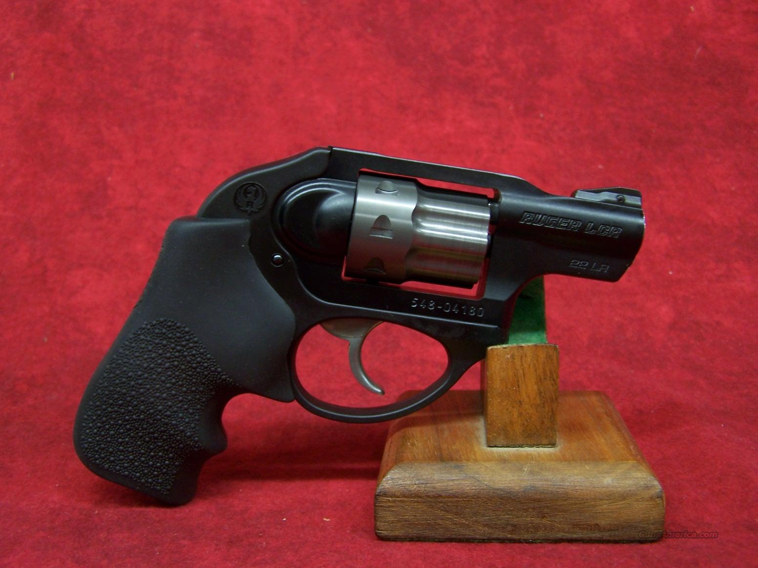 Ruger LCR-22 .22lr 8-shot (05410)  Guns > Pistols > Ruger Double Action Revolver > SP101 Type