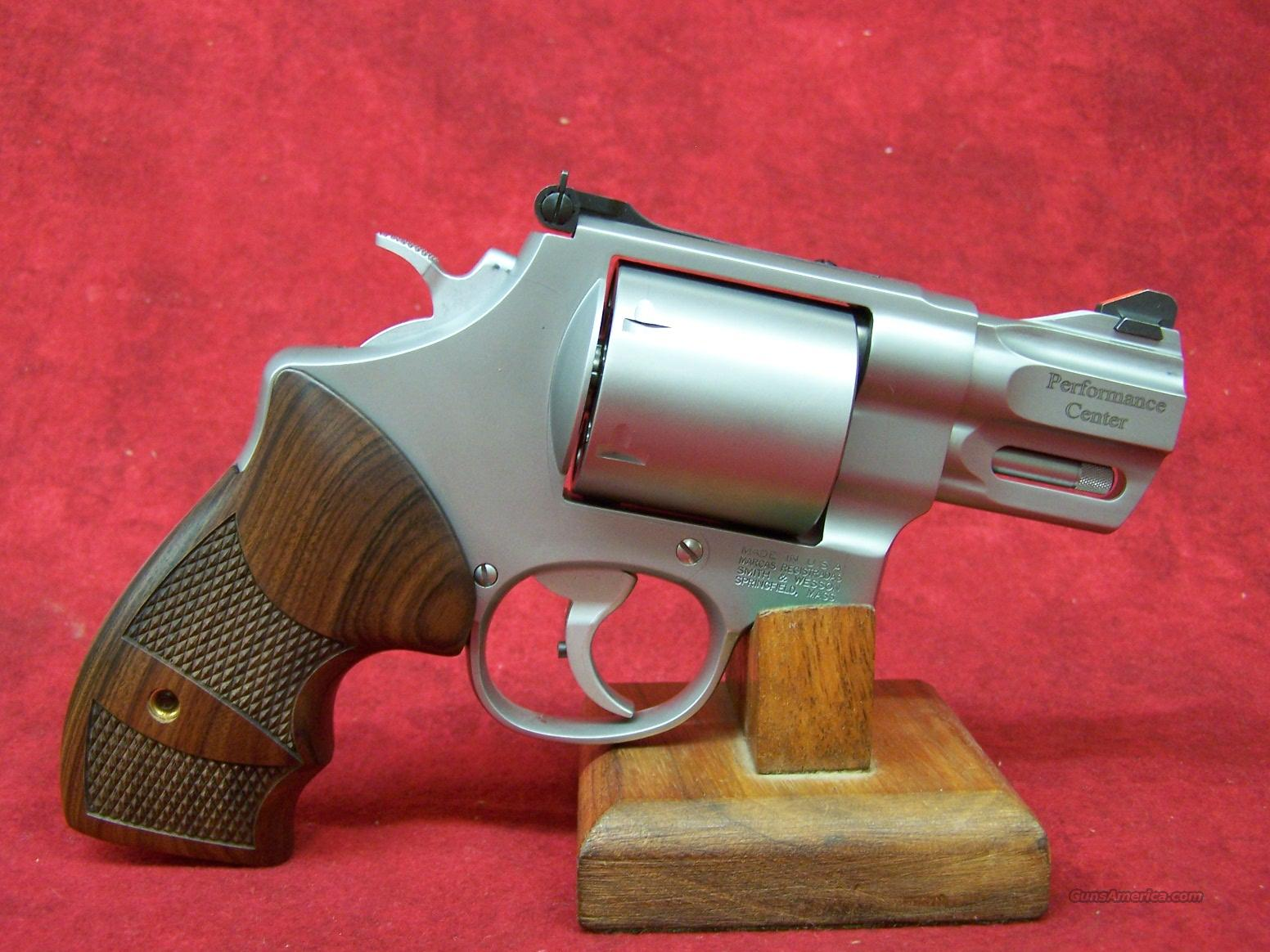 "Smith & Wesson 629 Performance Center 44 MAG 2 5/8"" 6RD SS WOOD GRIP (170135)  Guns > Pistols > Smith & Wesson Revolvers > Model 629"