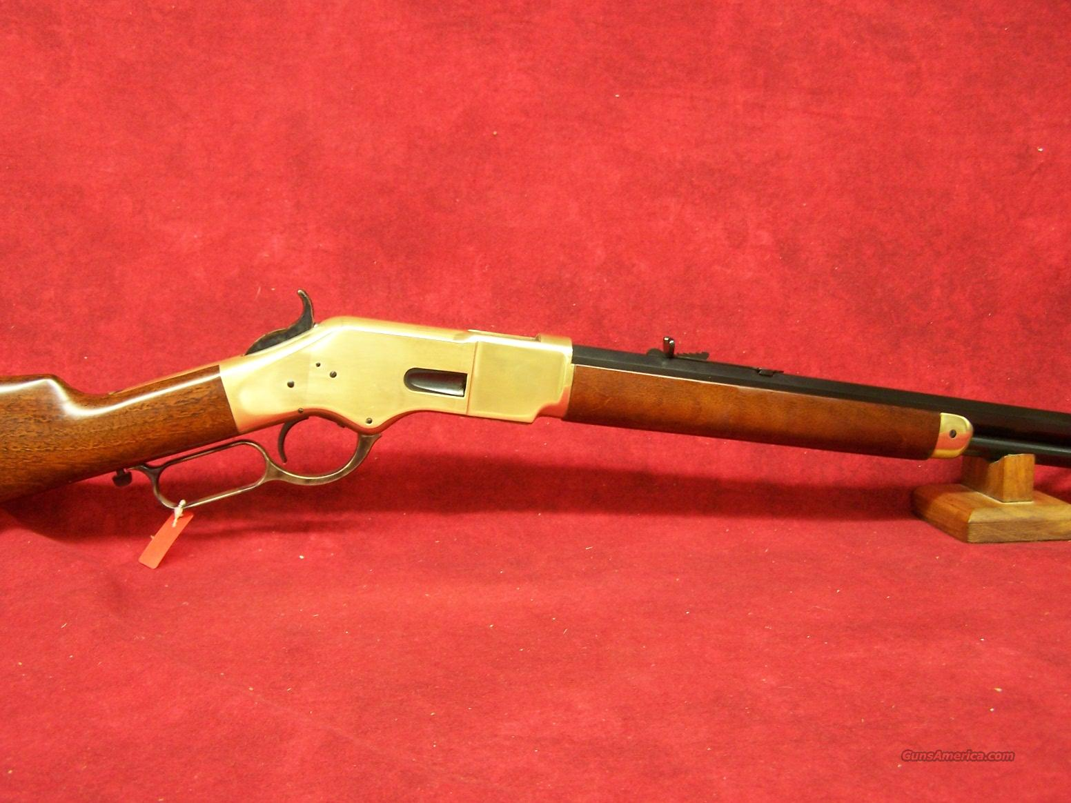 "Uberti 1866 Yellowboy 24 1/4"" Brass .45 Colt(342290)  Guns > Rifles > Uberti Rifles > Lever Action"