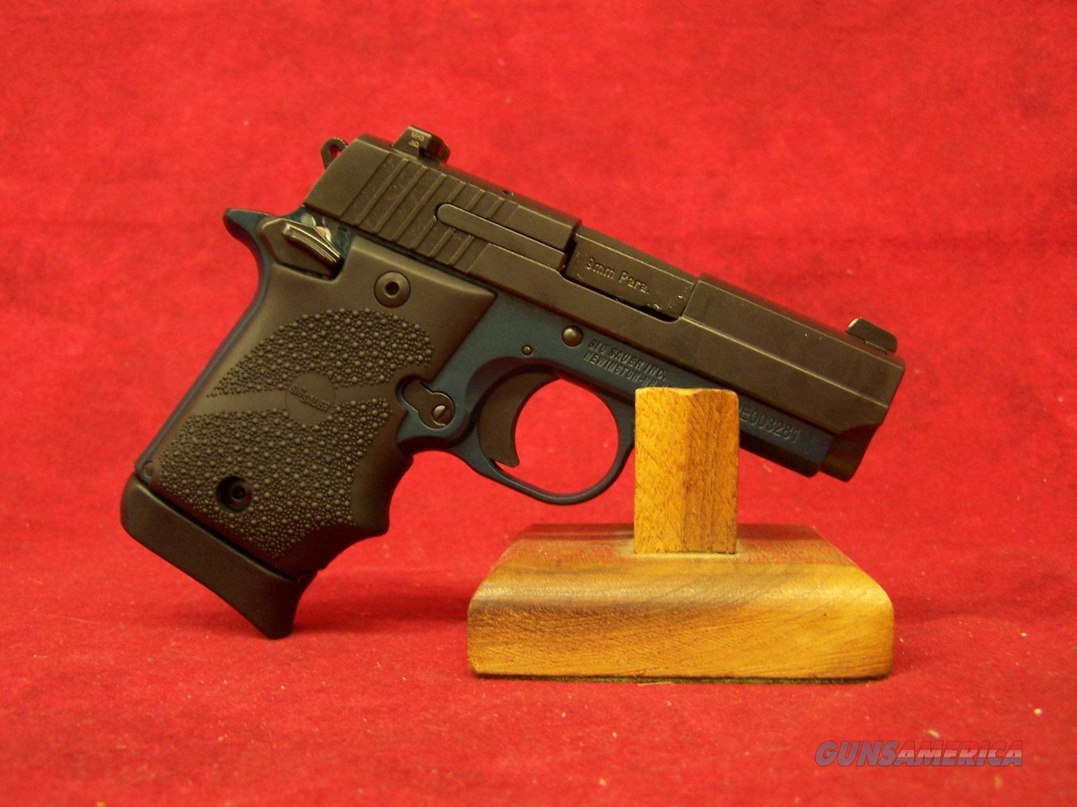 "Sig Sauer P938 9MM 3"" MICRO NAVY BLUE 2-TONE SAO NS (938-9-NBF-AMBI)  Guns > Pistols > Sig - Sauer/Sigarms Pistols > P938"