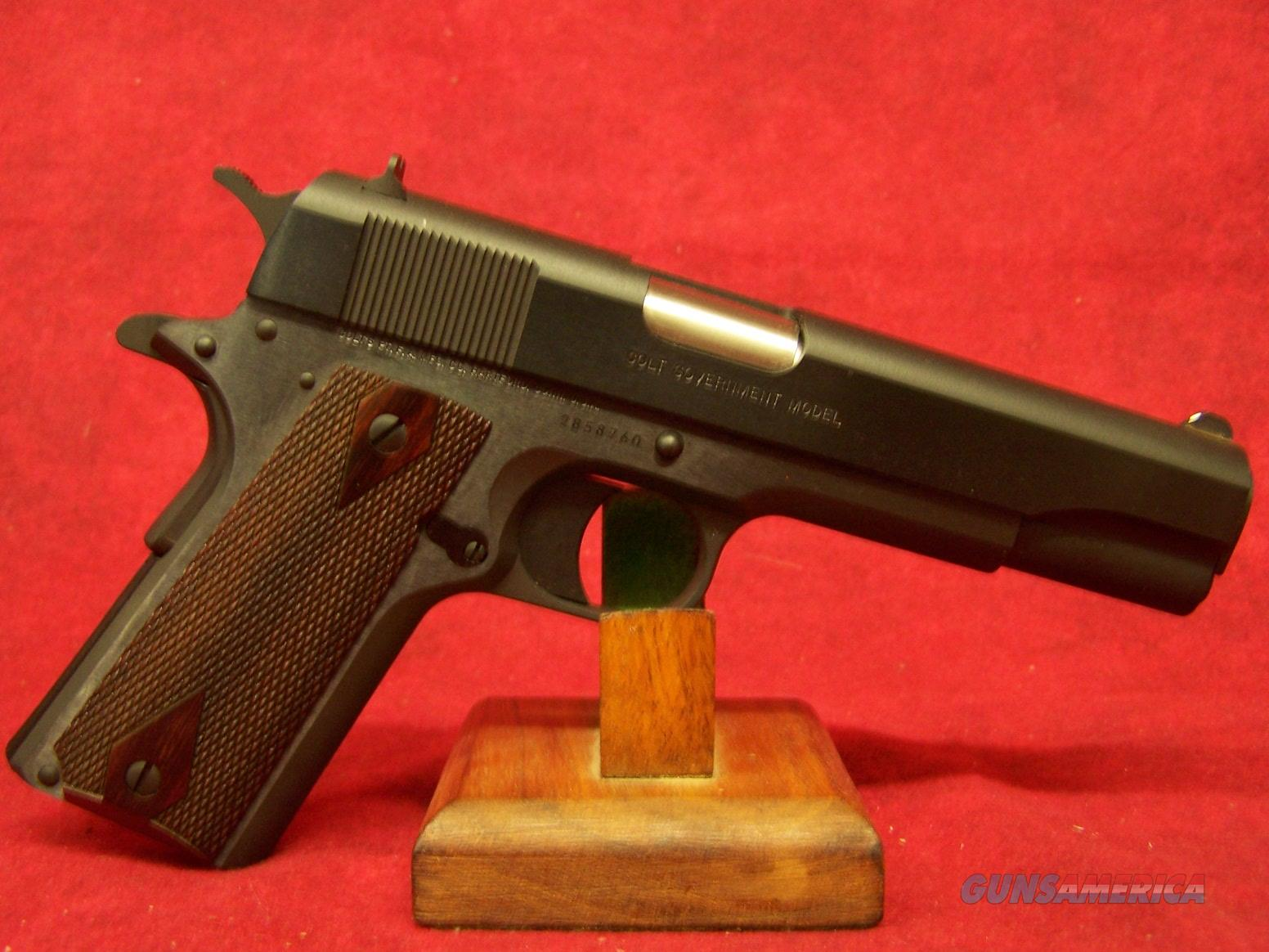 Colt Government Model M1991A1 .45ACP(01991)  Guns > Pistols > Colt Automatic Pistols (1911 & Var)