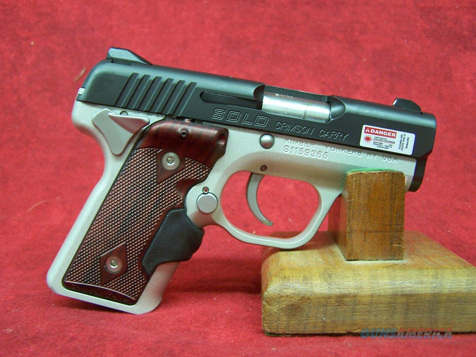 Kimber Solo Crimson Carry 9mm (39007)  Guns > Pistols > Kimber of America Pistols