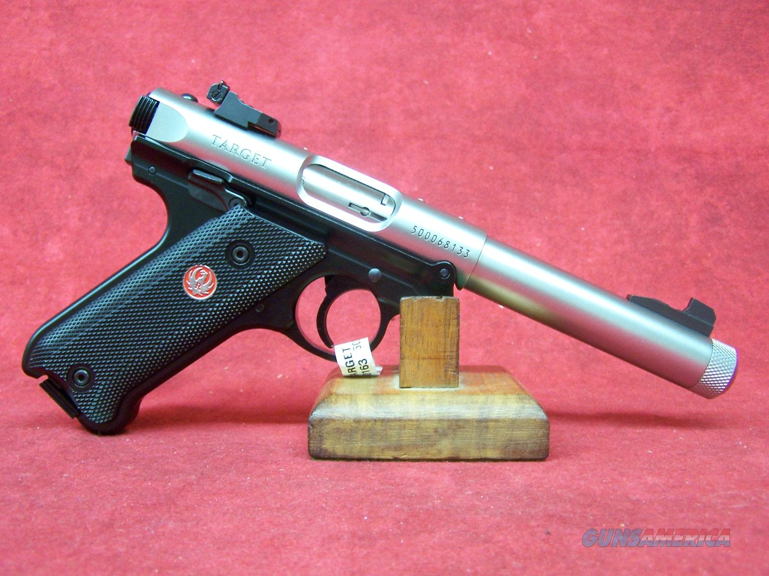 "Ruger Mark IV Target .22LR 5.5"" SS Barrel (40163)  Guns > Pistols > Ruger Semi-Auto Pistols > Mark I/II/III/IV Family"