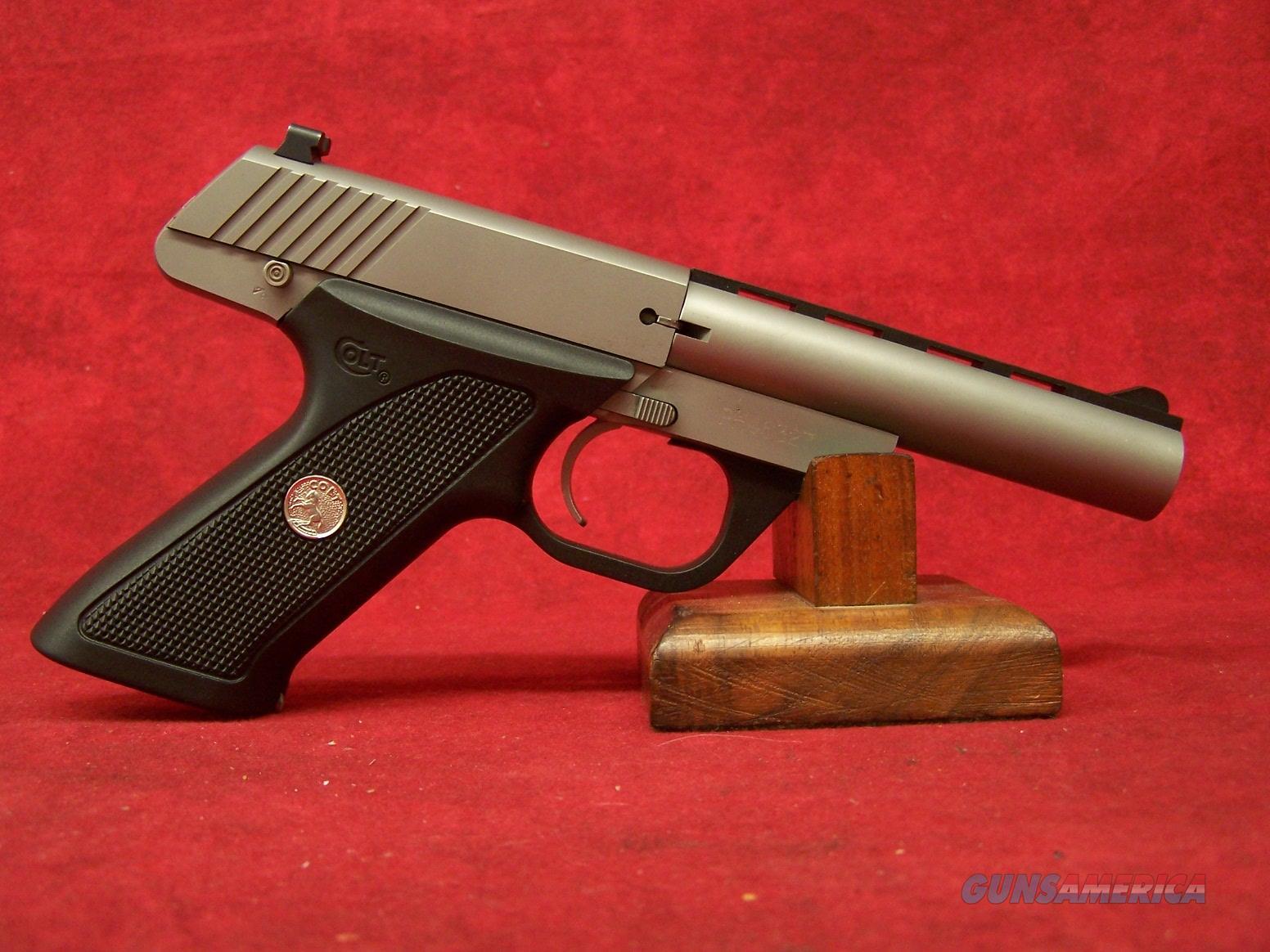 """Colt Cadet .22 LR 4.5"""" SS barrel  CC5140 SS   Guns > Pistols > Colt Automatic Pistols (22 Cal.)"""