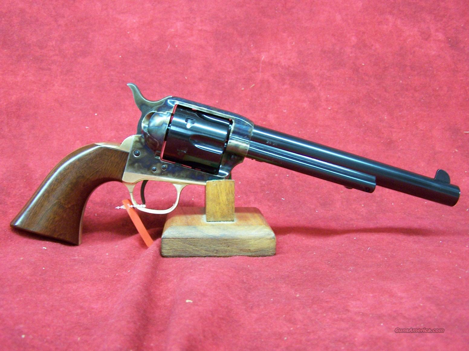 "Uberti 1873 Cattleman II NM Brass .45LC 7 1/2"" with Retractable firing pin system (356450)  Guns > Pistols > Uberti Pistols > Ctg."