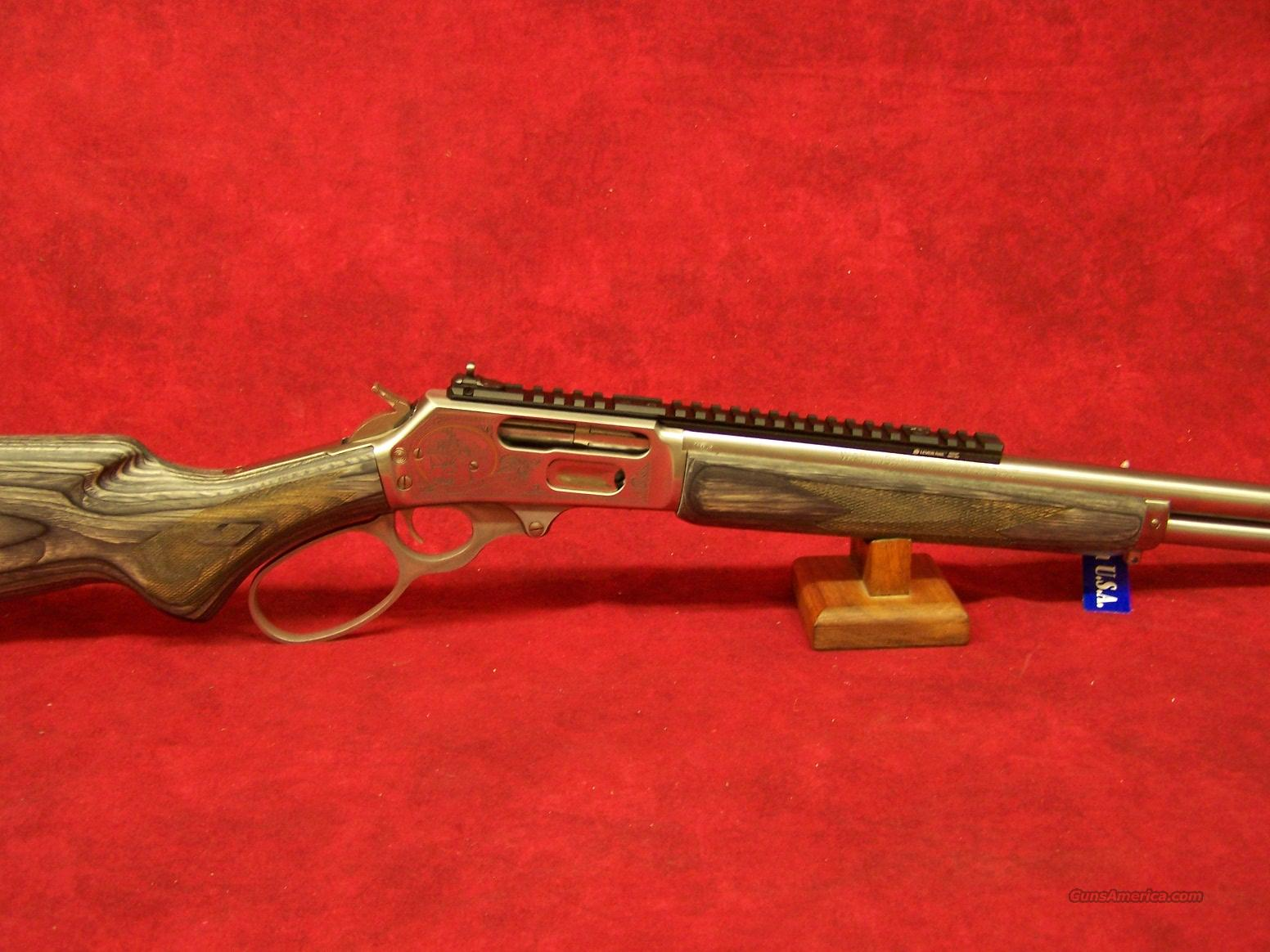 Marlin 1895SBL 2014 RMEF Banquet rifle .45-70 govt  Guns > Rifles > Marlin Rifles > Modern > Lever Action