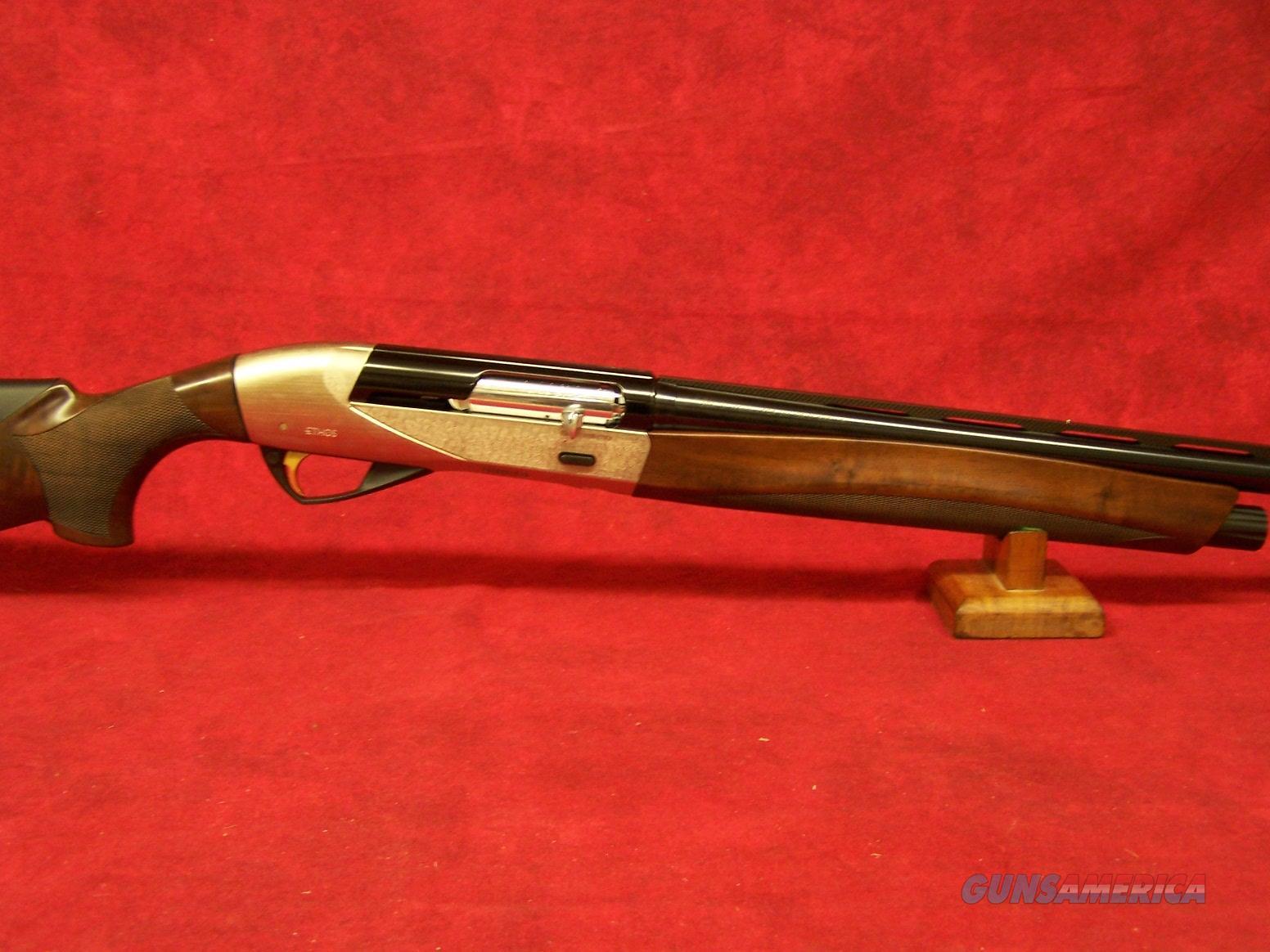 "Benelli Ethos 12 Ga 3"" AA-Grade Satin Walnut Nickel Engraved Progressive Comfort 26"" Barrel (10461)  Guns > Shotguns > Benelli Shotguns > Sporting"