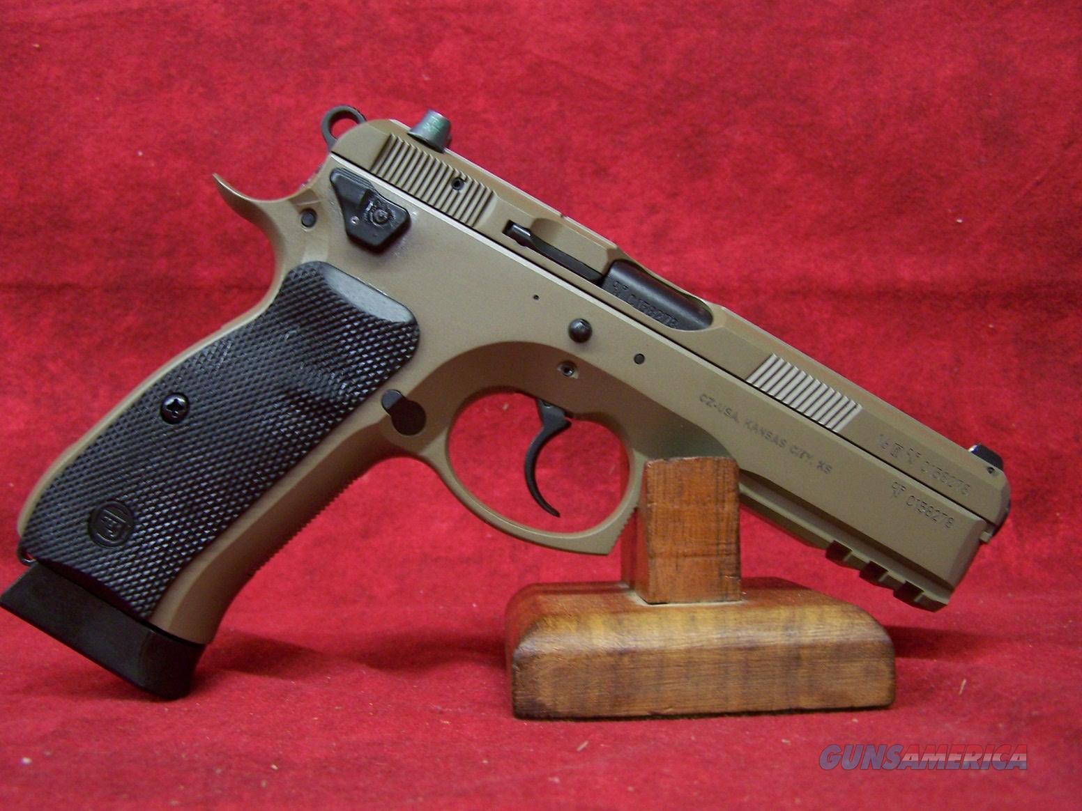 """CZ 75 SP-01 Tactical FDE 9mm  4.6"""" Barrel (91263)  Guns > Pistols > CZ Pistols"""