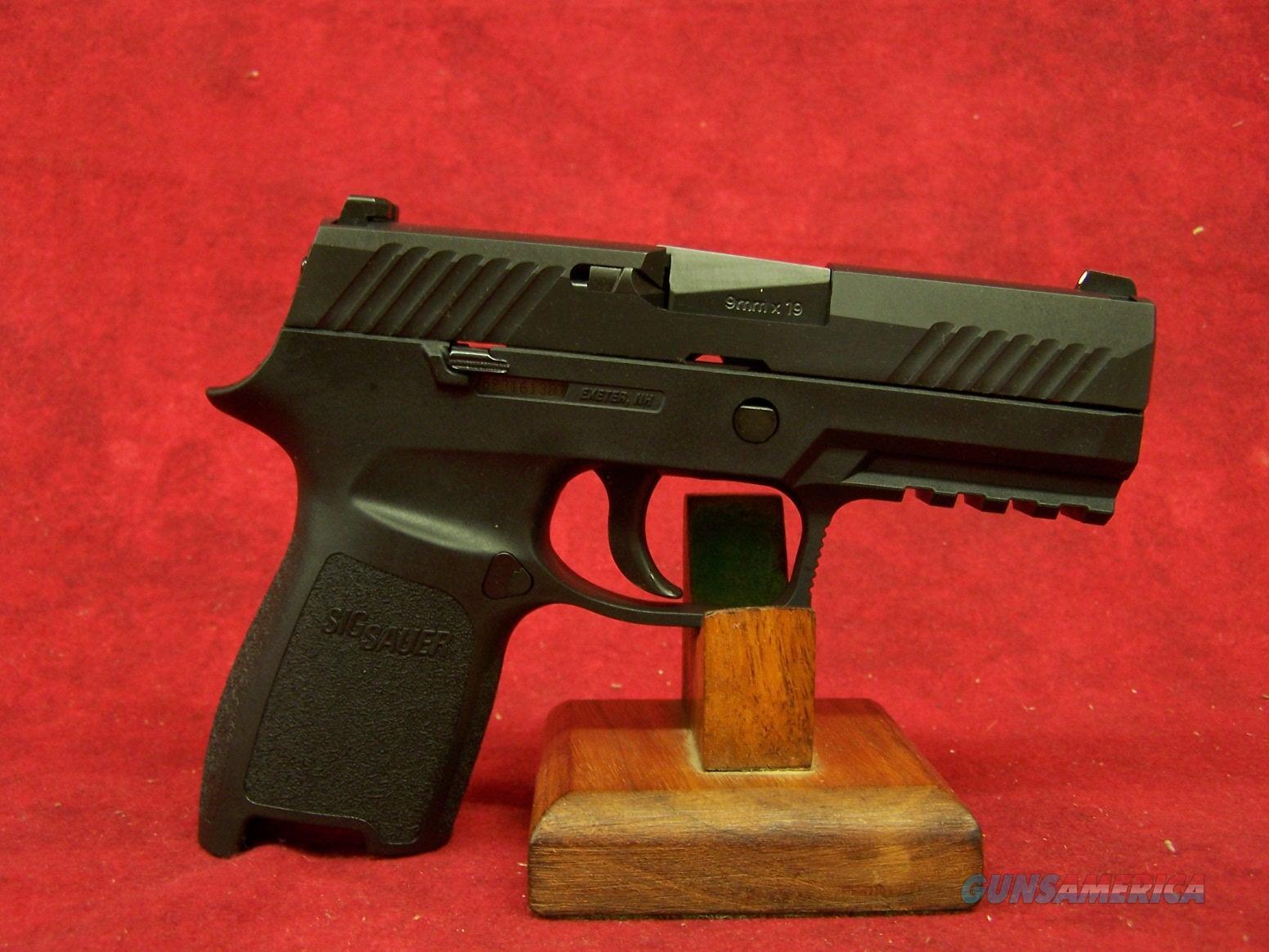 "Sig Sauer 320 Compact 9mm 3.9"" Barrel (320C-9-B)  Guns > Pistols > Sig - Sauer/Sigarms Pistols > P320"