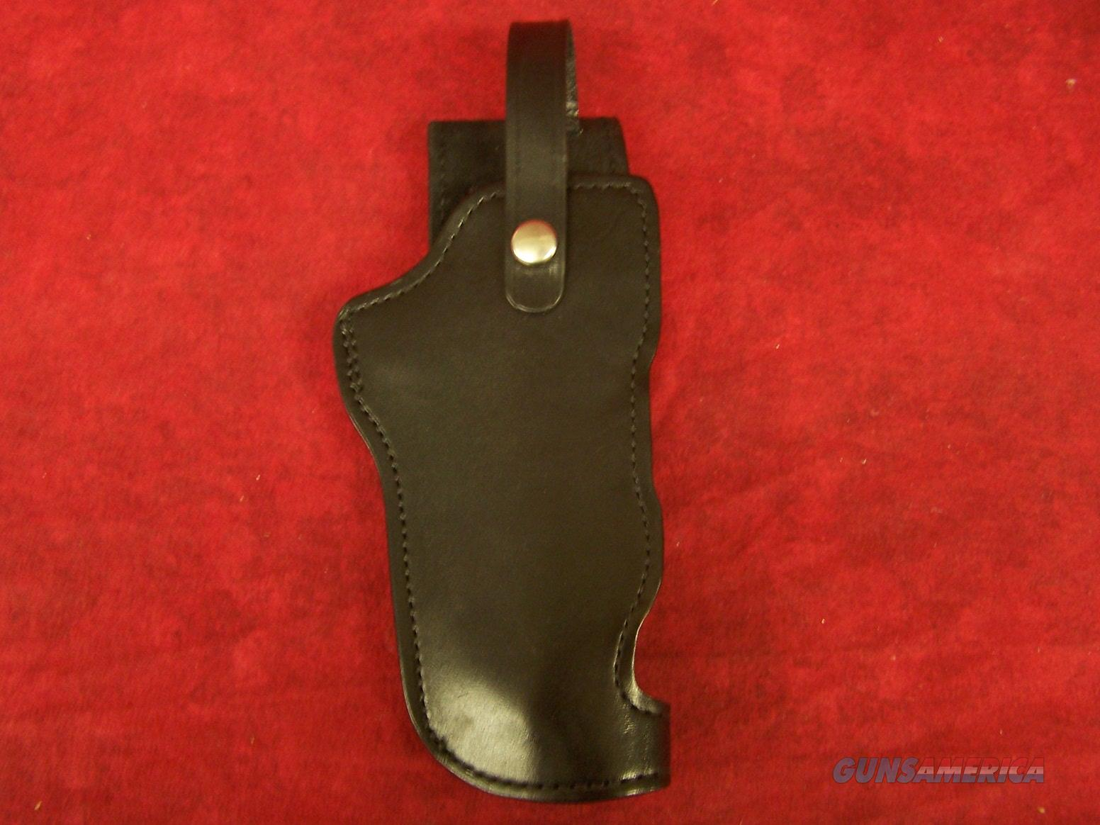 "Gould Desert Eagle Hip Holster  6"" Black Leather Magnum Research (DEP2540)  Non-Guns > Holsters and Gunleather"