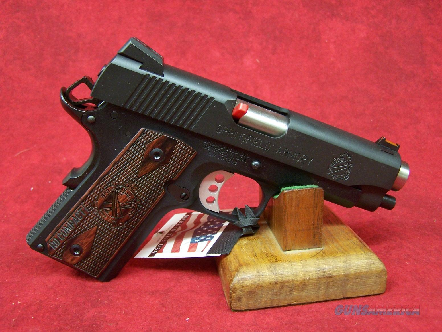 Springfield Armory 1911 Lightweight Compact Range Officer 9mm (PI9125LP)  Guns > Pistols > Springfield Armory Pistols > 1911 Type