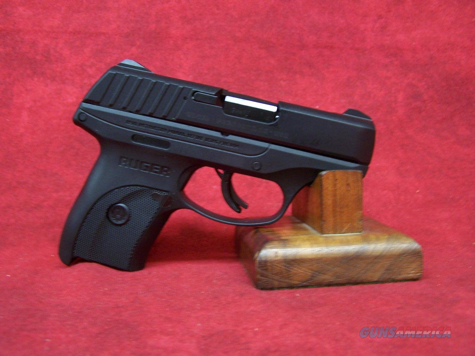 """Ruger EC9s 9mm Luger 3.12"""" Barrel 8 Round Black (03283)  Guns > Pistols > Ruger Semi-Auto Pistols > EC9"""