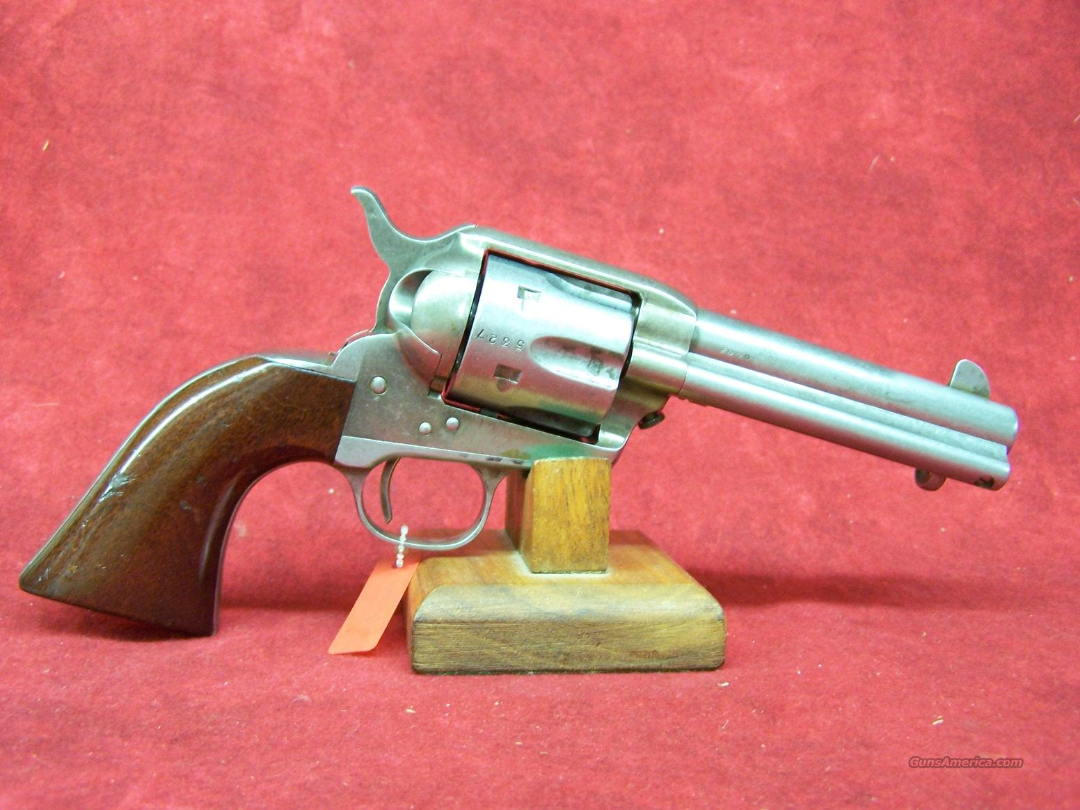 "Uberti 1873 Cattleman OM Old West Finish .45LC 4 3/4""(355120)  Guns > Pistols > Uberti Pistols > Ctg."