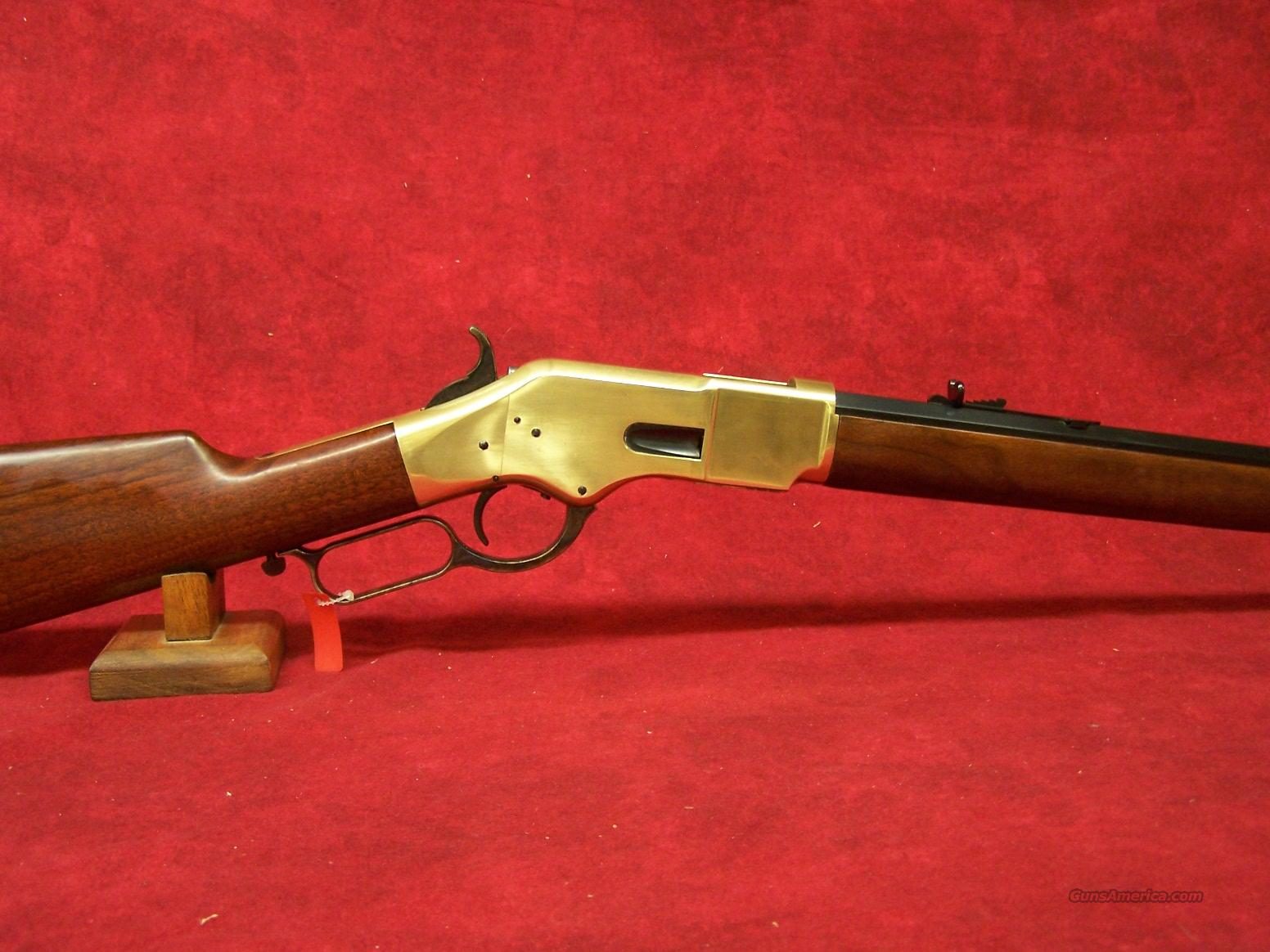 "Uberti 1866 Yellowboy Sporting 24 1/4"" Brass .38 Special (342220)  Guns > Rifles > Uberti Rifles > Lever Action"