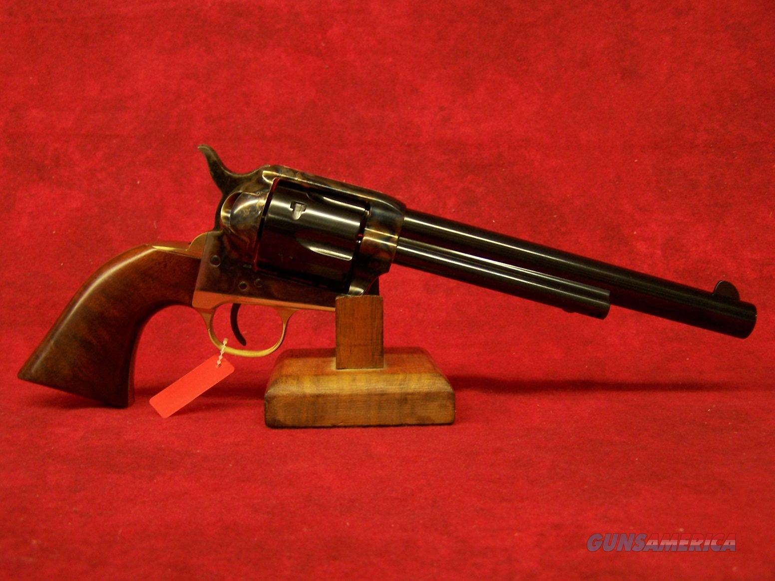 """Uberti 1873 Cattleman II Brass  .357 Mag 7 1/2"""" Case Hardened Frame, Brass B/S and T/G (356250)  Guns > Pistols > Uberti Pistols > Ctg."""