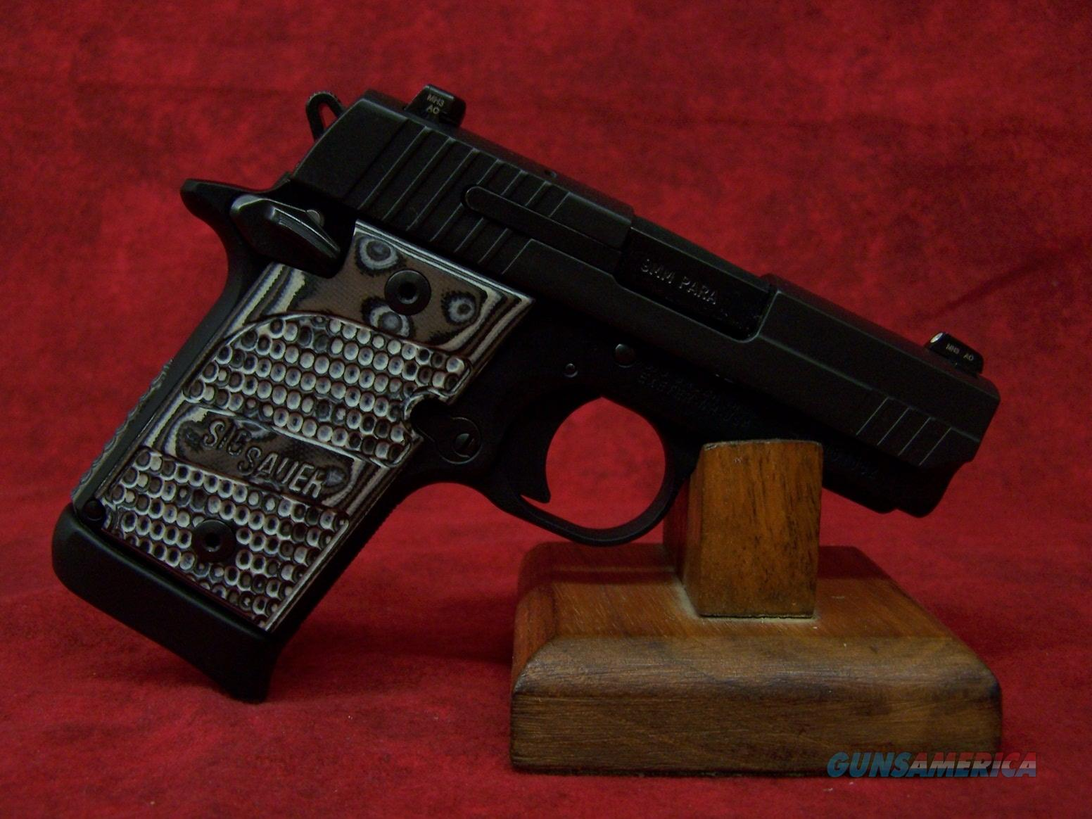 Sig Sauer P938 Extreme Night Sight 9mm (938-9-XTM-BLKGRY-AMBI)  Guns > Pistols > Sig - Sauer/Sigarms Pistols > Other