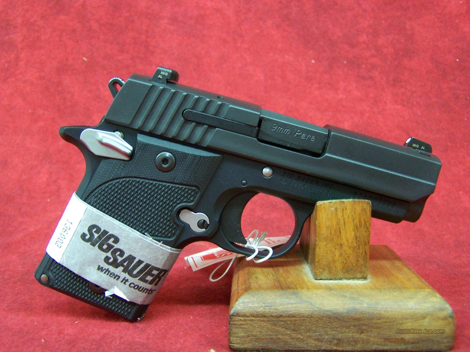 "Sig Sauer P938 Nightmare 9mm 6rd 2.72"" Barrel(938-9-NMR-AMBI)  Guns > Pistols > Sig - Sauer/Sigarms Pistols > Other"