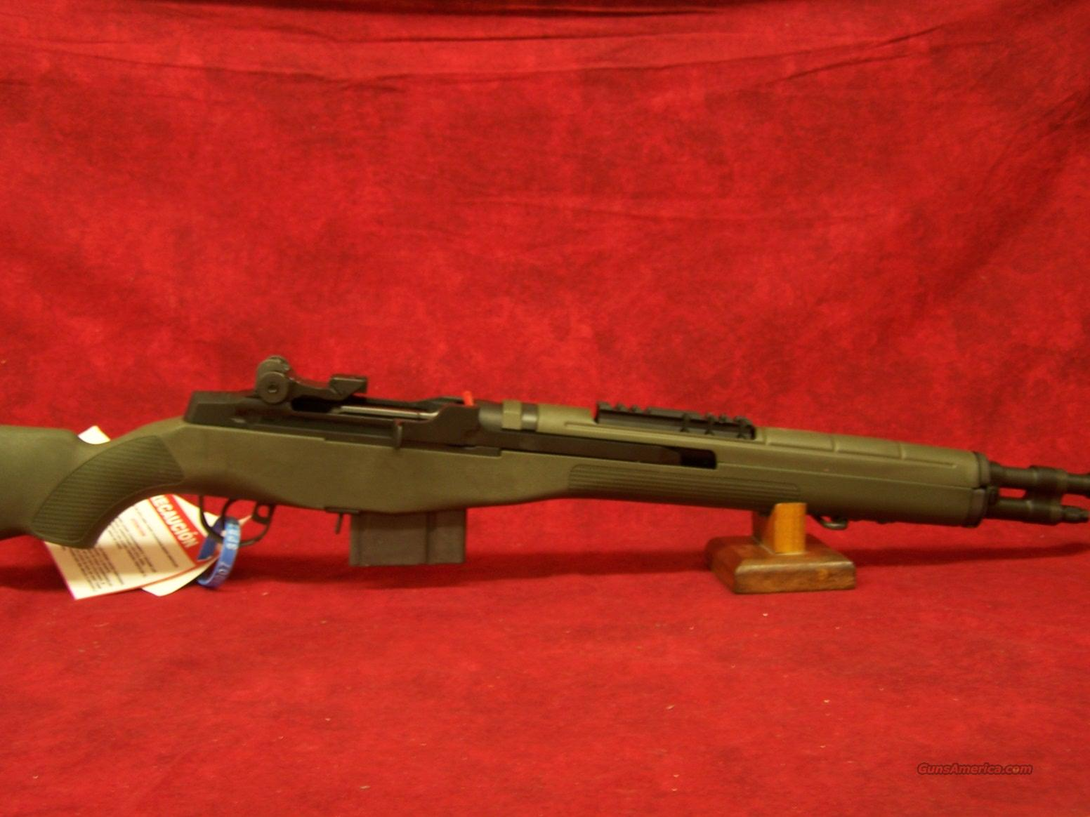 Springfield Armory M1A Scout Squad Green Fiberglass Stock 7.62(AA9129)   Guns > Rifles > Springfield Armory Rifles > M1A/M14