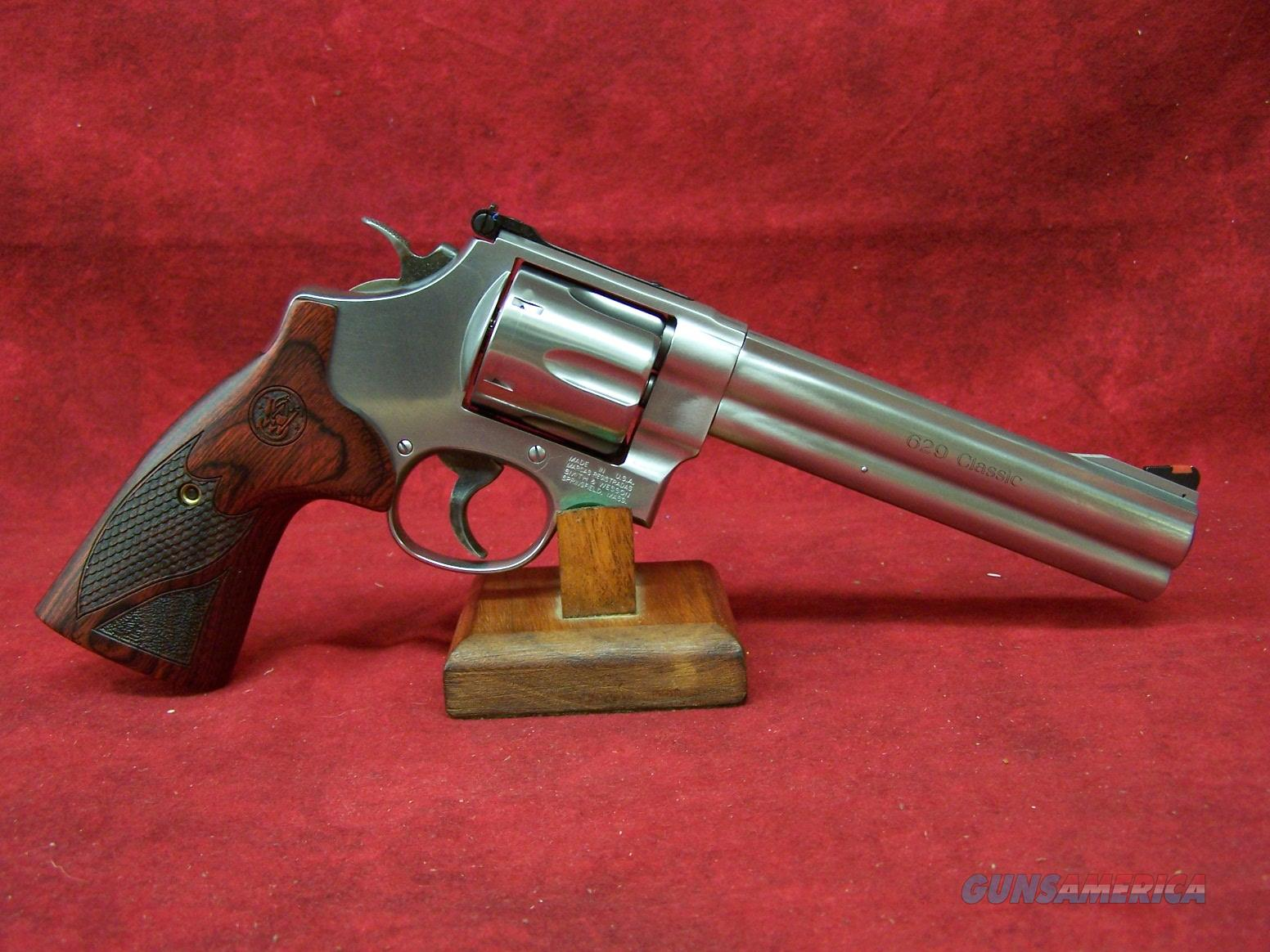 Smith & Wesson Model 629 Deluxe .44 Magnum 6.5 Inch Barrel (150714)  Guns > Pistols > Smith & Wesson Revolvers > Model 629