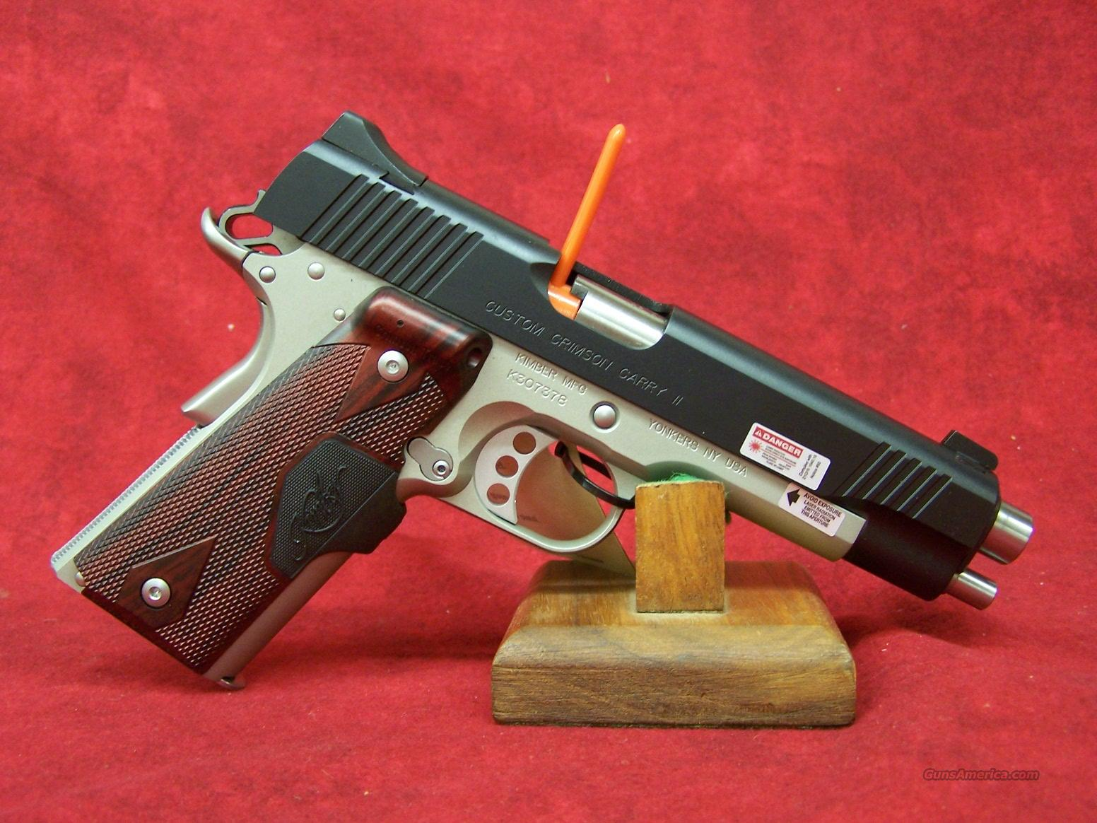Kimber Custom Crimson Carry II .45ACP(32189)  Guns > Pistols > Kimber of America Pistols