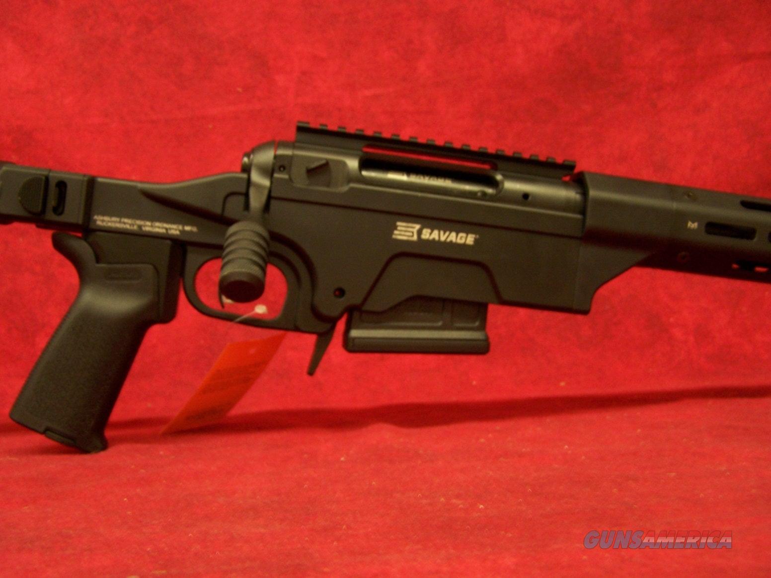 """SAVAGE M10 308 24"""" THRD MZL FLD STK ASHBURY PRECISION (22631)  Guns > Rifles > Savage Rifles > 10/110"""
