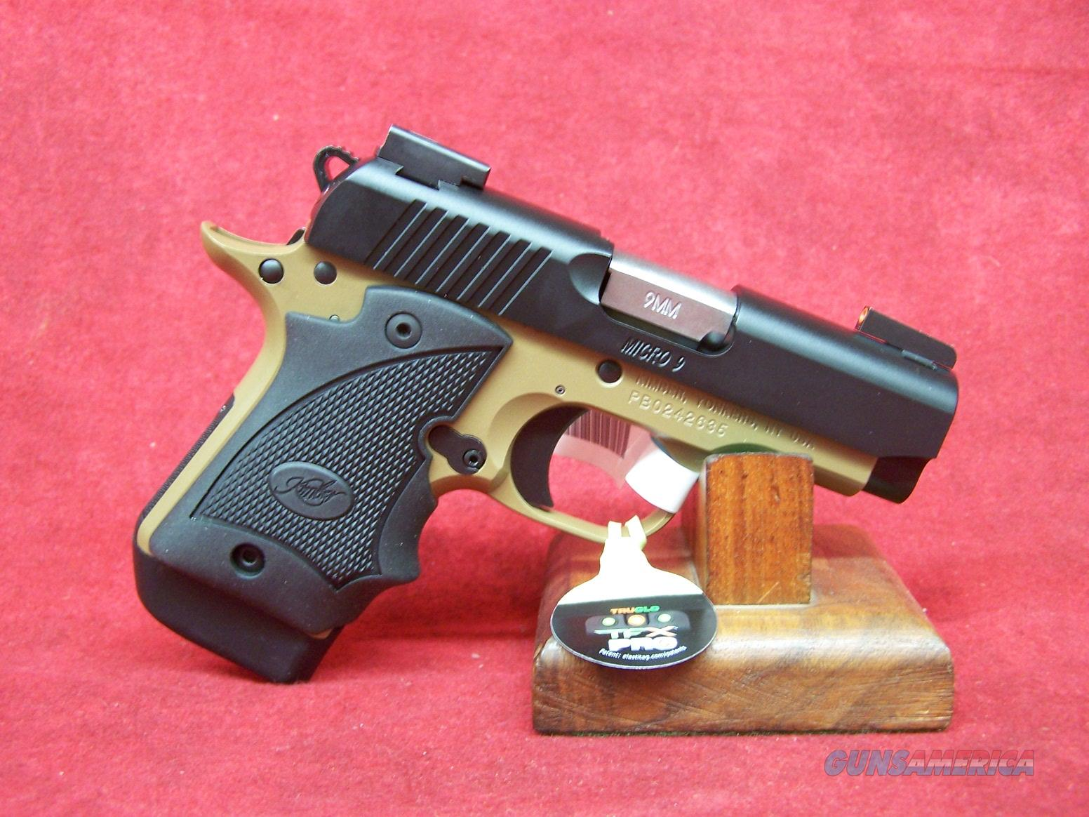 Kimber Micro 9 Desert Night (DN) 9mm (33197)  Guns > Pistols > Kimber of America Pistols > Micro 9