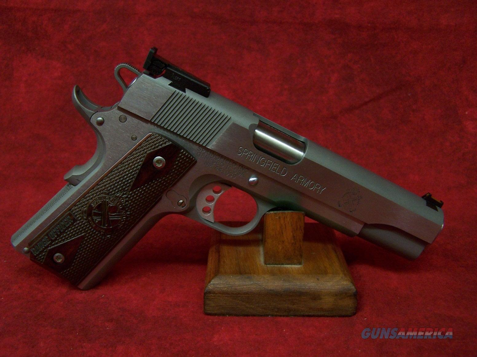 "Springfield Armory 1911 Range Officer 9mm 5"" Cocobolo Grips SS (PI9122LP)   Guns > Pistols > Springfield Armory Pistols > 1911 Type"