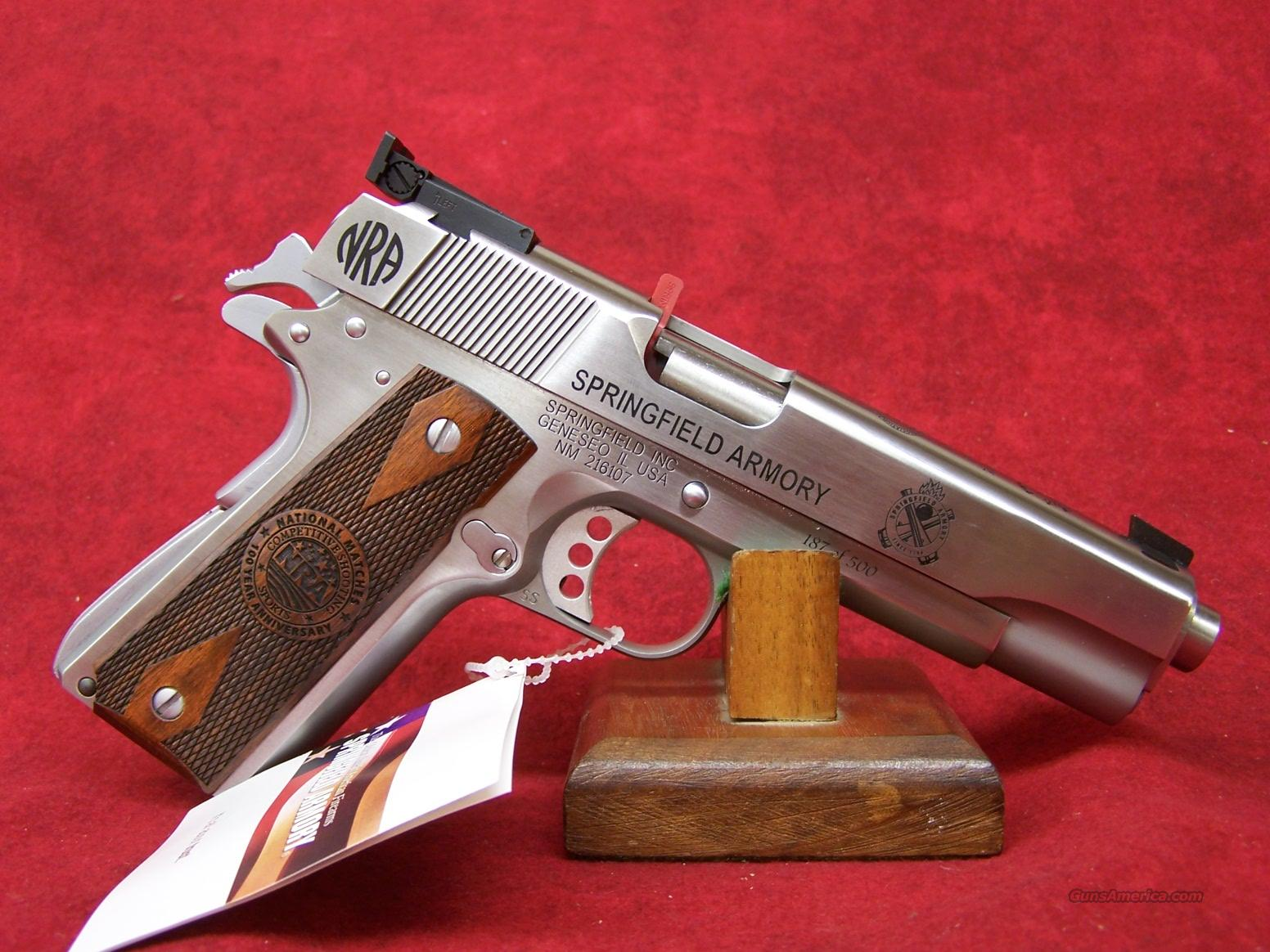 Sprinfield Armory 1911 Camp Perry Anniversary Limited Edition   Guns > Pistols > Springfield Armory Pistols > 1911 Type