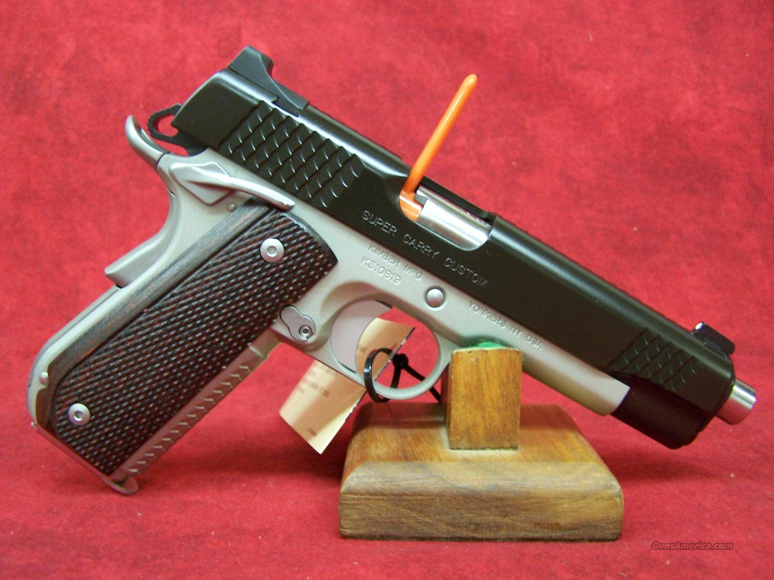 Kimber Super Carry Custom .45ACP(30246)  Guns > Pistols > Kimber of America Pistols