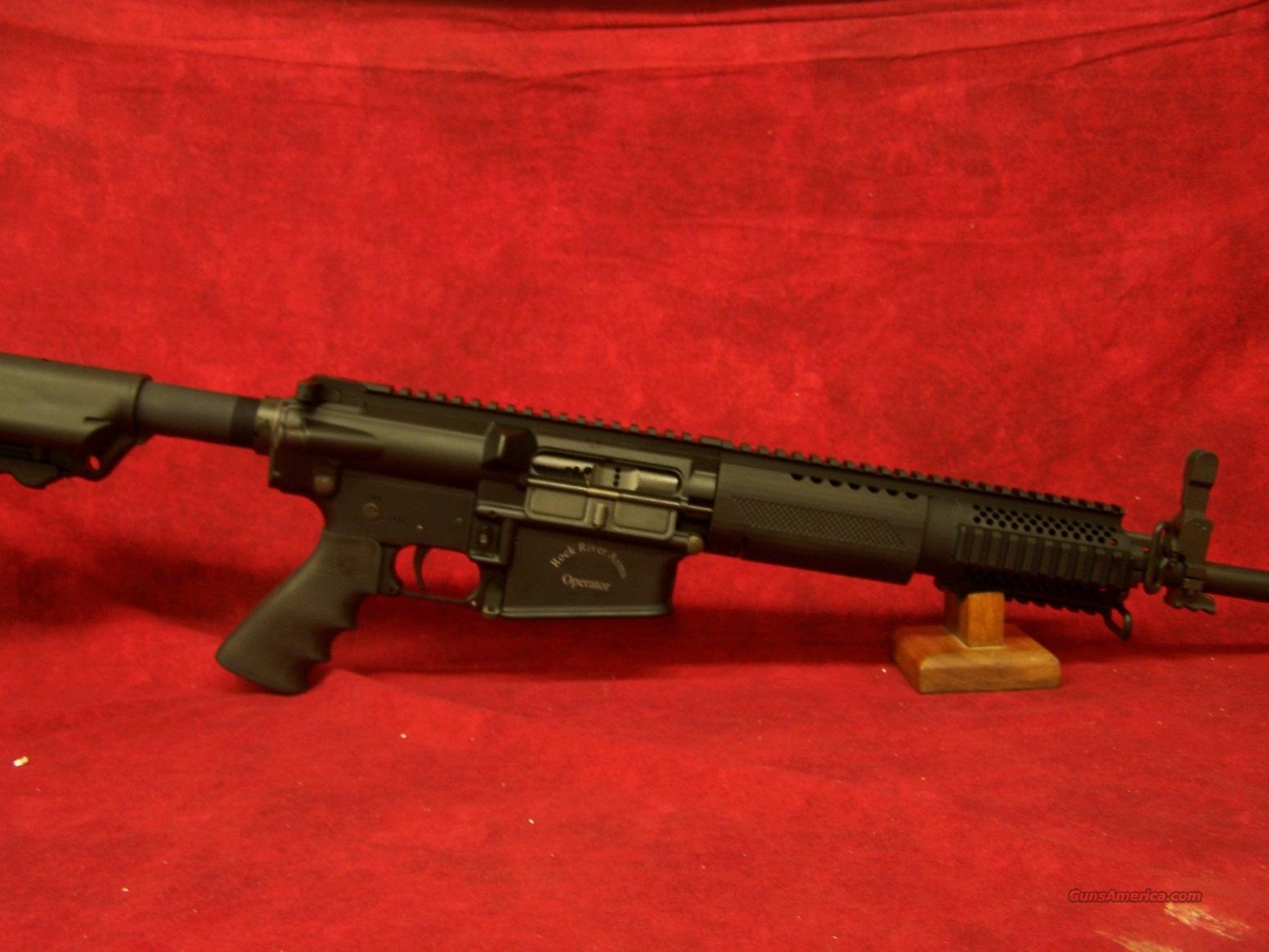 Rock River Arms LAR-8 Elite Operator .308/7.62mm  Guns > Rifles > Rock River Arms Rifles
