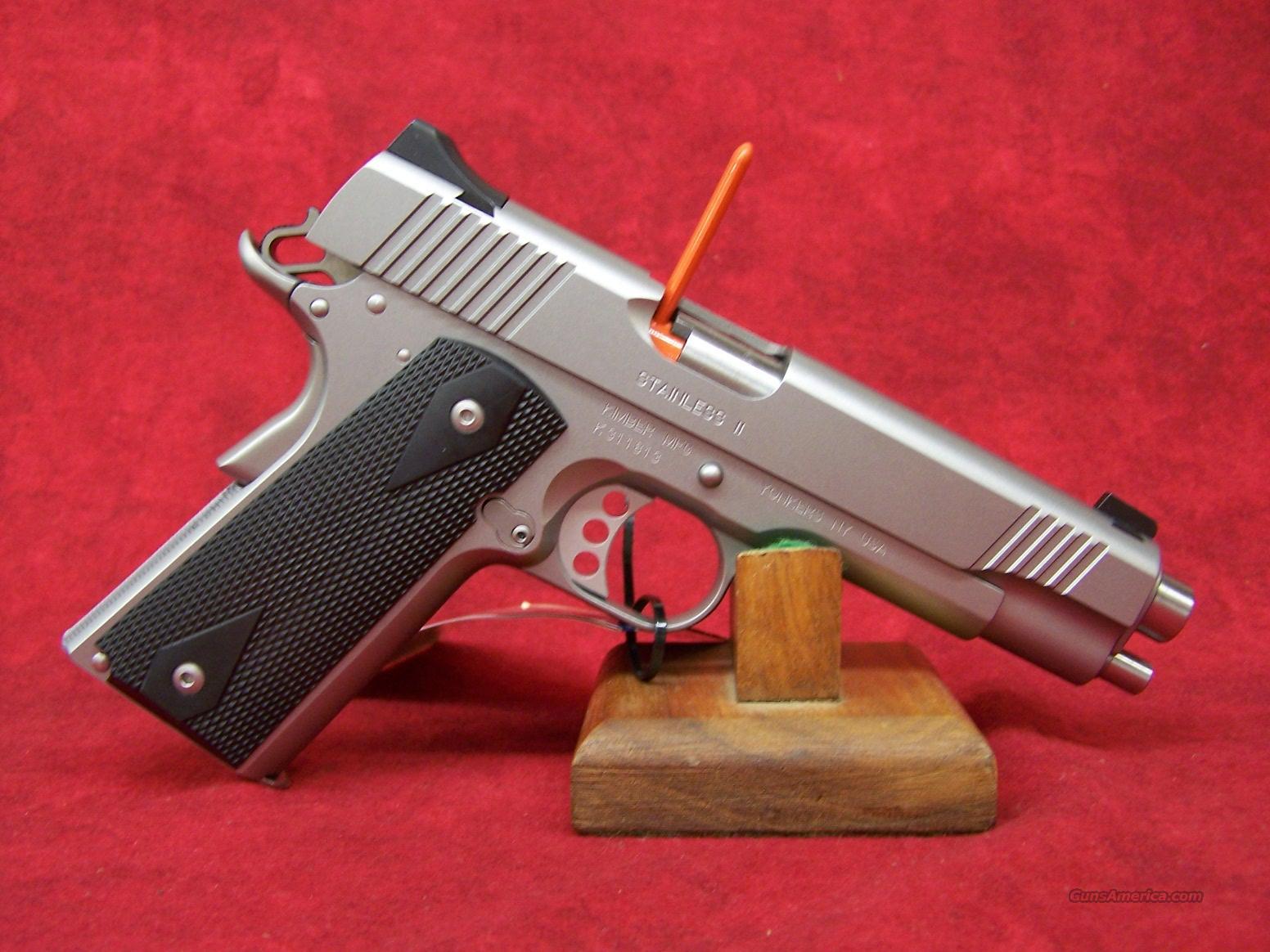 Kimber Stainless II .45ACP(32007)  Guns > Pistols > Kimber of America Pistols