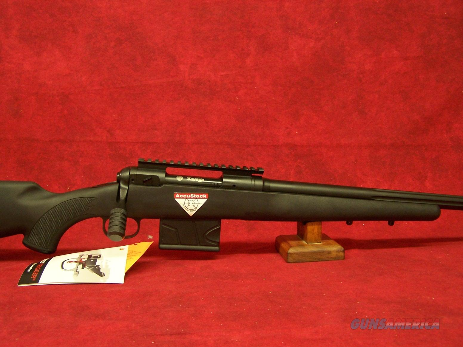"Savage 10FCP-SR .308 Win 20"" Threaded Barrel Accutrigger Black Syn Accustock 10 Round (22442)  Guns > Rifles > Savage Rifles > 10/110"