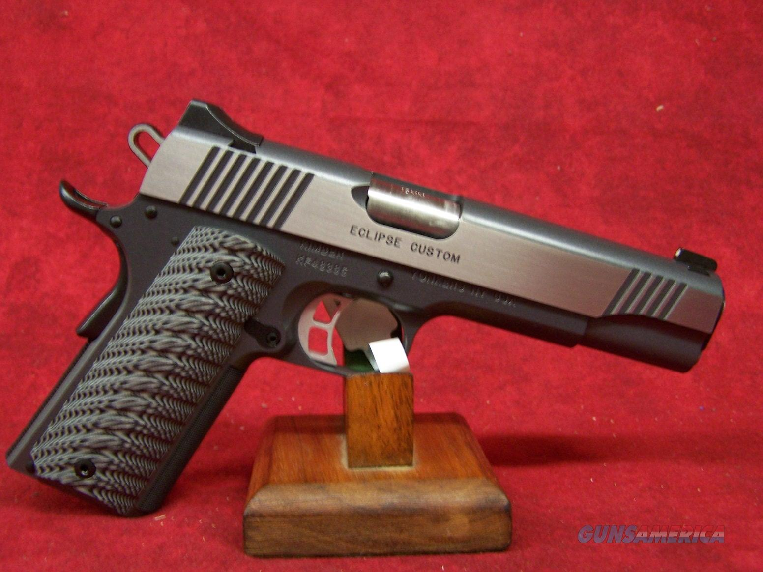 "Kimber Eclipse Custom 10mm 5"" Barrel (30239)  Guns > Pistols > Kimber of America Pistols"