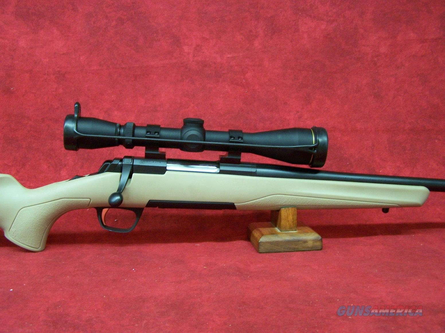 "Browning X-Bolt Desert Tan Leupold Combo .300 WSM 23"" (035392246)   Guns > Rifles > Browning Rifles > Bolt Action > Hunting > Blue"