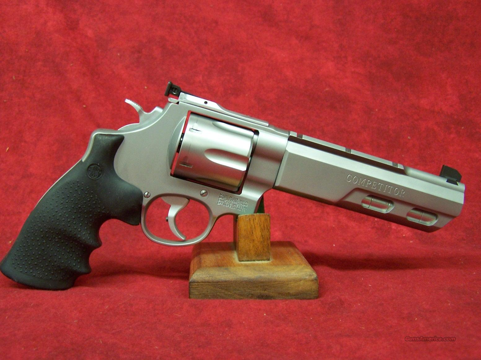 """Smith & Wesson 629 Competitor .44 Mag 6"""" Weighted Barrel Performance Center (170320)  Guns > Pistols > Smith & Wesson Revolvers > Performance Center"""