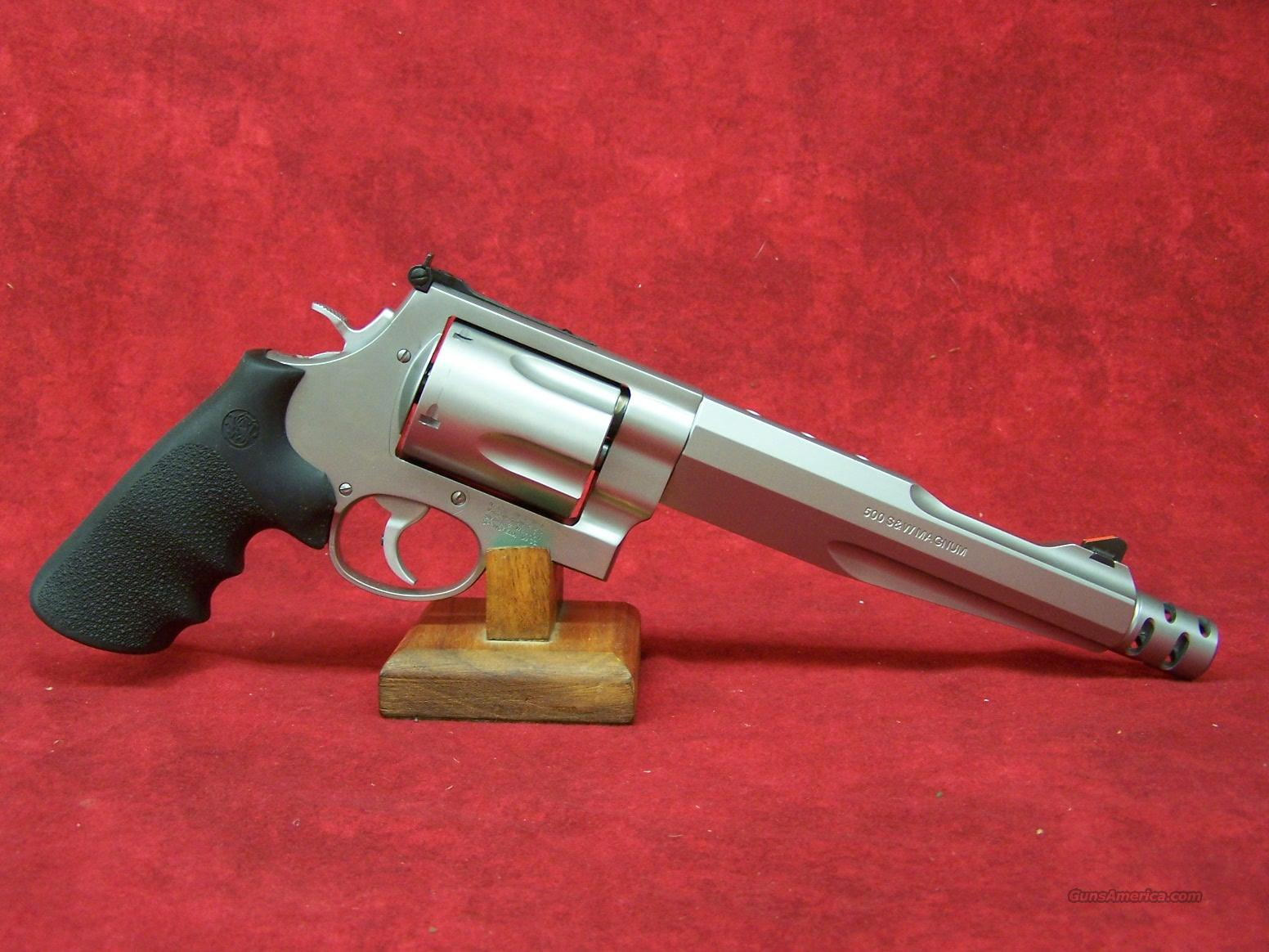 "Smith & Wesson 500 Hunter 7 1/2"" 500 S&W (170299)  Guns > Pistols > Smith & Wesson Revolvers > Performance Center"