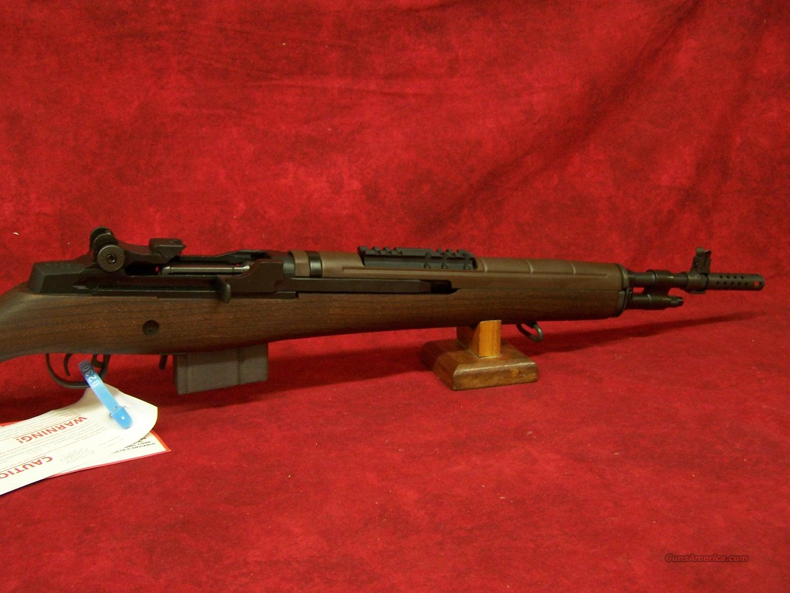 Springfield Armory M1A Scout Squad Walnut Stock 7.62(AA9122)  Guns > Rifles > Springfield Armory Rifles > M1A/M14