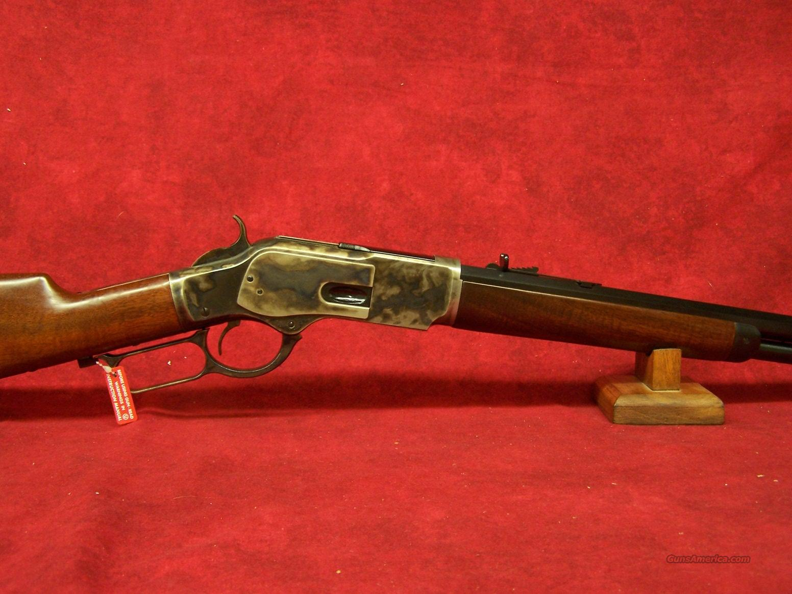 "Uberti 1873 Short Rifle Steel .357 Mag 20"" (342710)  Guns > Rifles > Uberti Rifles > Lever Action"