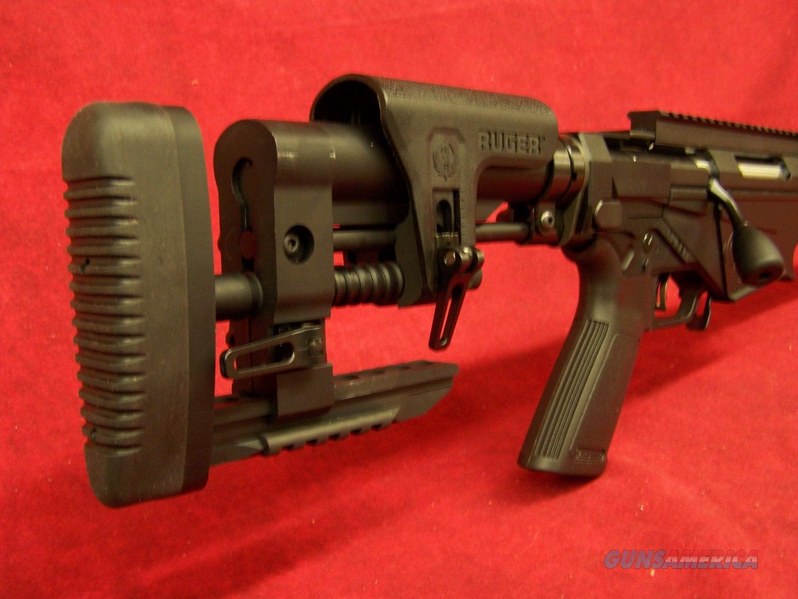 Ruger Precision Rifle 6.5 Creedmoor 24 Inch Steel Threaded Barrel 5R Rifling Hybrid Muzzle Brake (18008)  Guns > Rifles > Ruger Rifles > Precision Rifle Series
