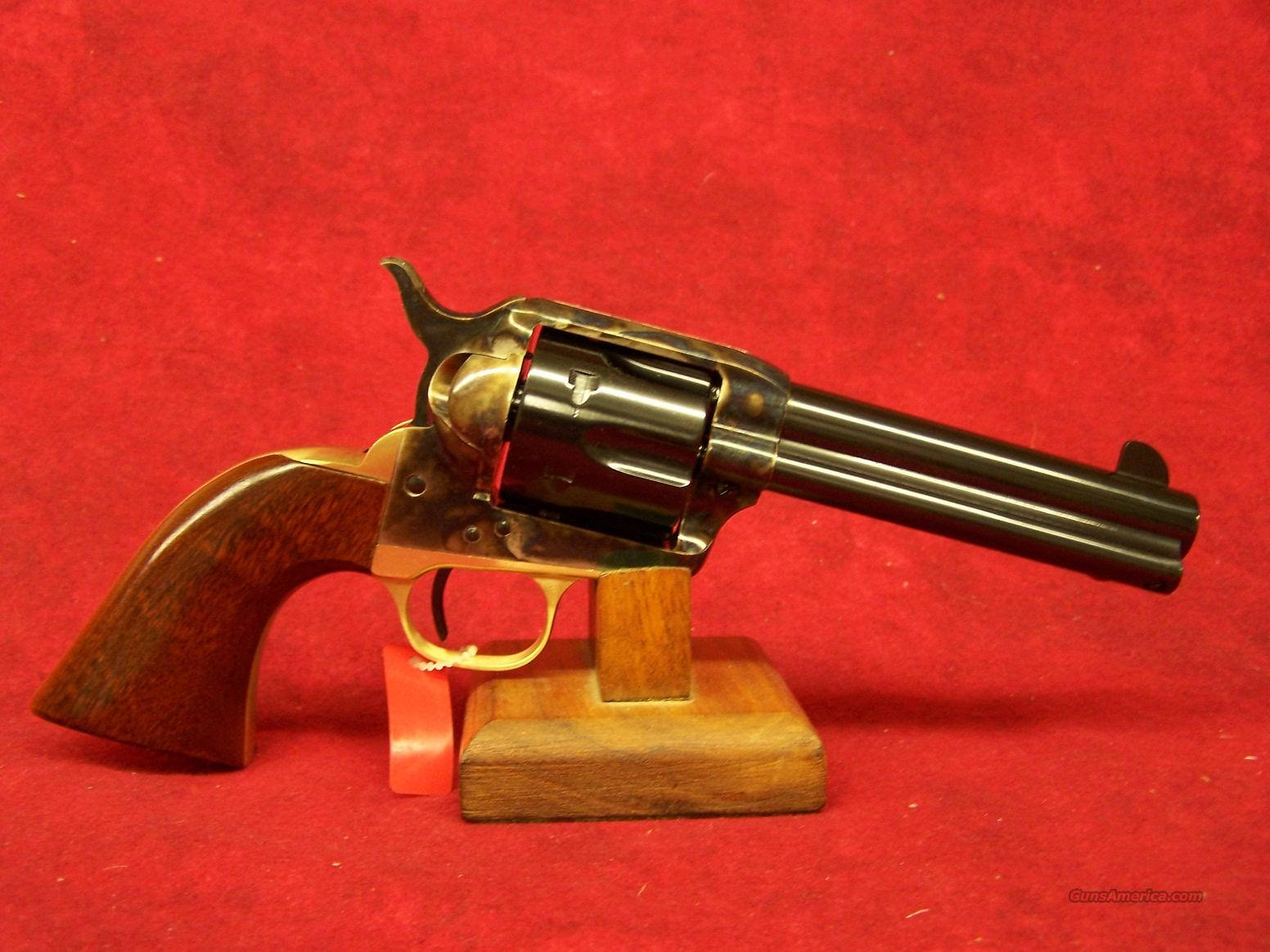 "Uberti 1873 Cattleman II Improved NM Brass .44-40 4 3/4"" w/ New retractable firing pin (356300)  Guns > Pistols > Uberti Pistols > Ctg."