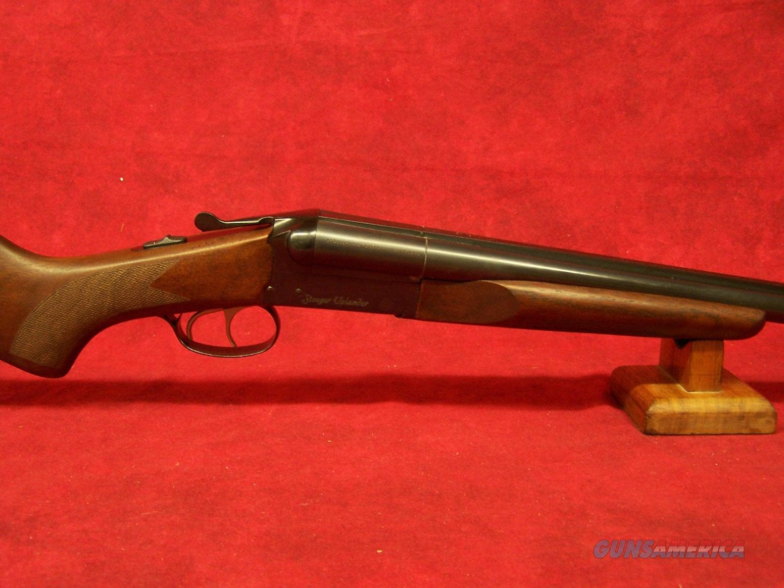 """Stoeger Uplander 20Ga 3"""" SxS A-Grade Satin Walnut 28"""" Barrel (31155)  Guns > Shotguns > Stoeger Shotguns"""