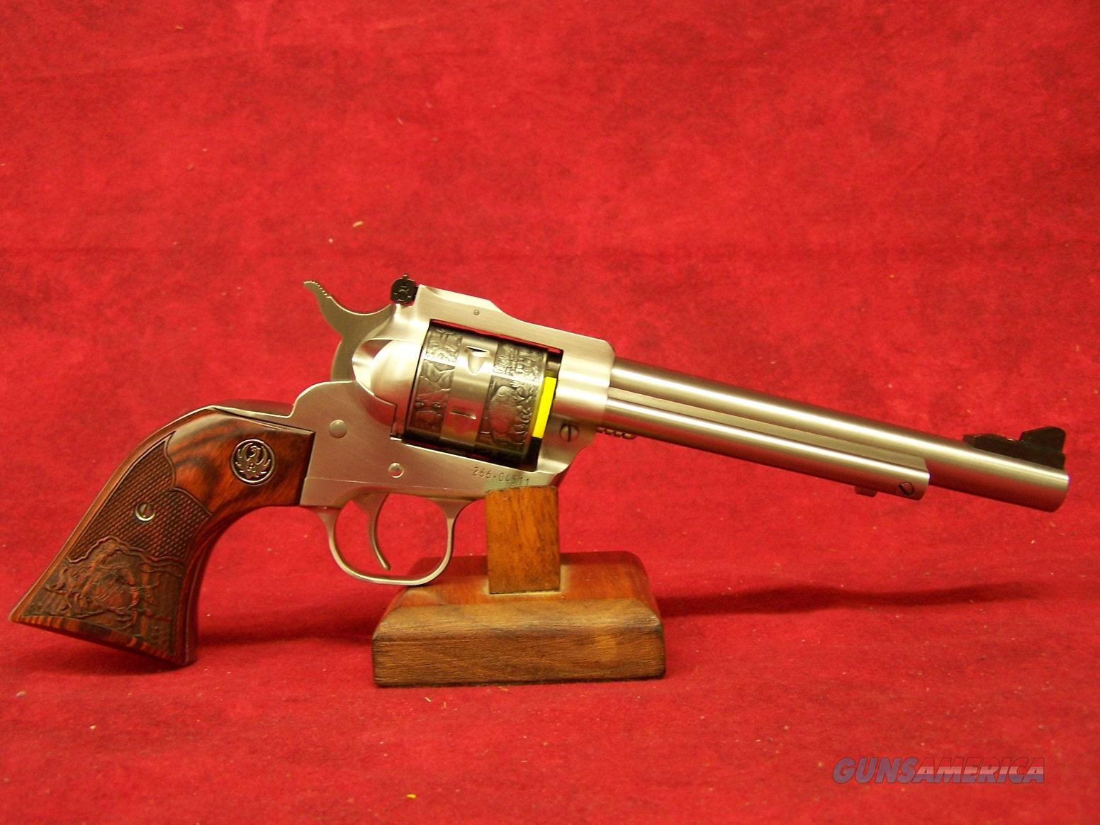 "Ruger Single Six Convertible Talo Engraved 22lr / 22 WMRF  6.5"" Barrel (00676)  Guns > Pistols > Ruger Single Action Revolvers > Single Six Type"