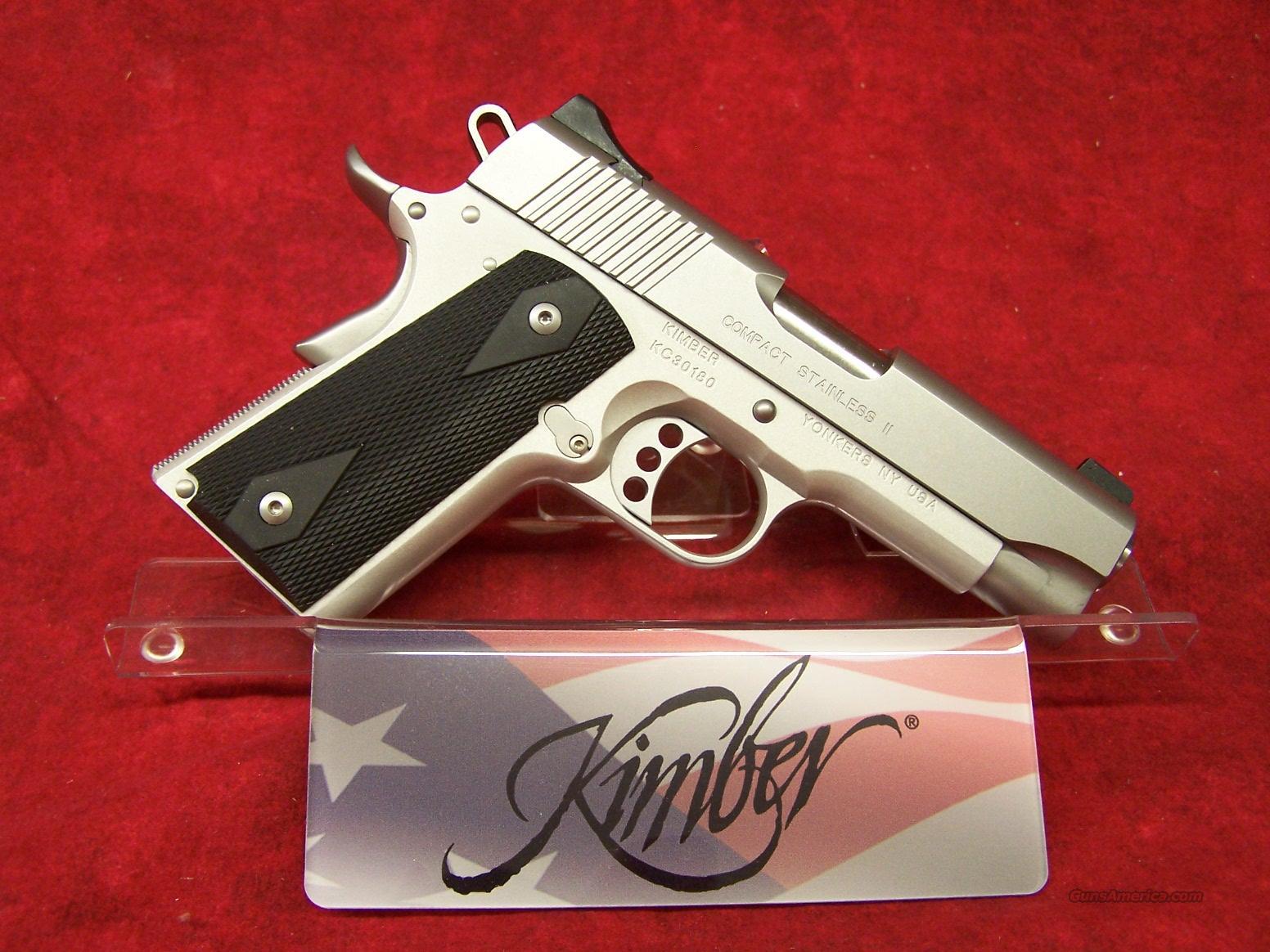 Kimber Compact Stainless II .45 ACP (32036)  Guns > Pistols > Kimber of America Pistols
