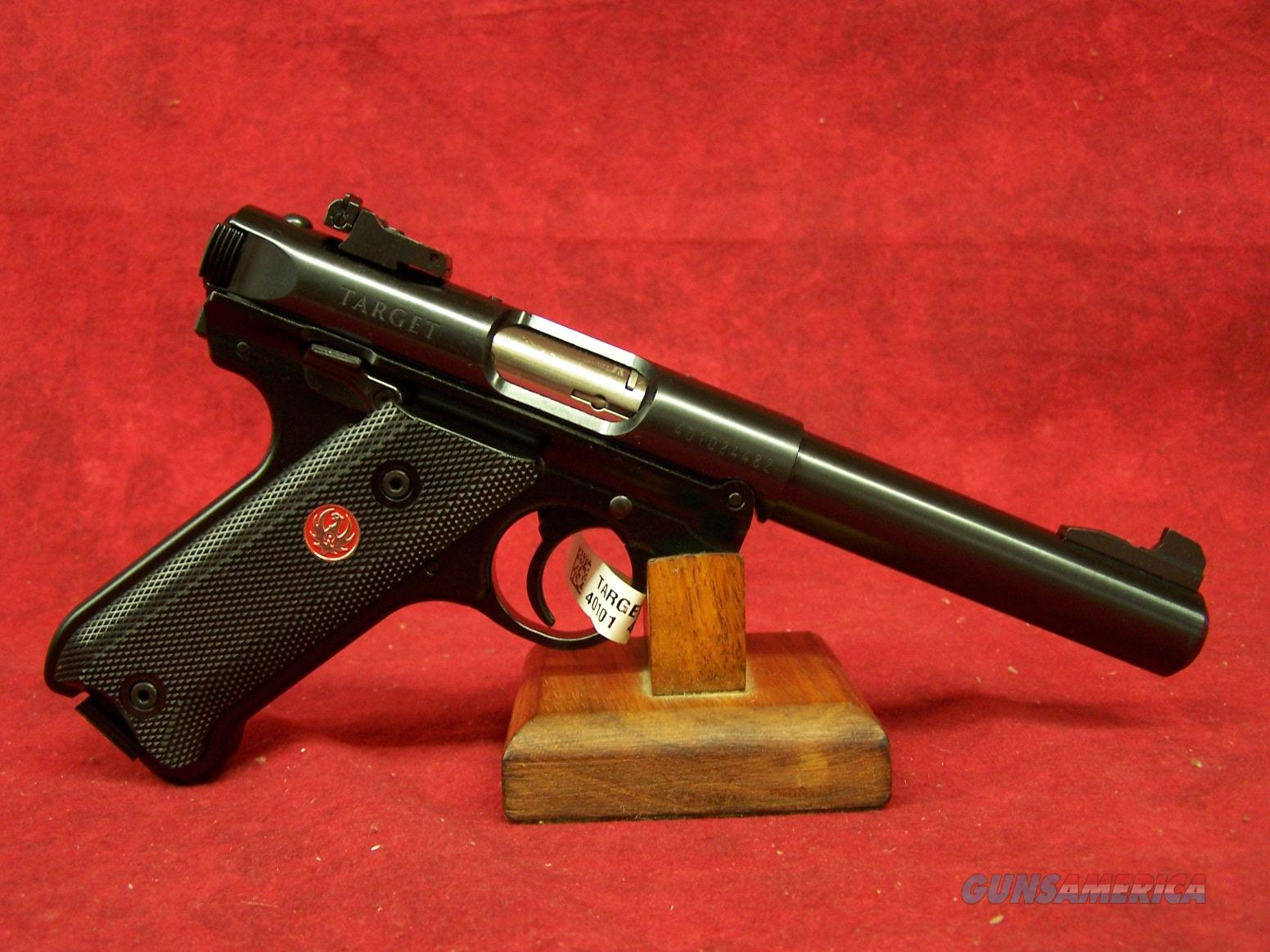 Ruger Mark IV Target .22 Long Rifle 5.5 Inch Bull Barrel (40101)  Guns > Pistols > Ruger Semi-Auto Pistols > Mark I/II/III Family
