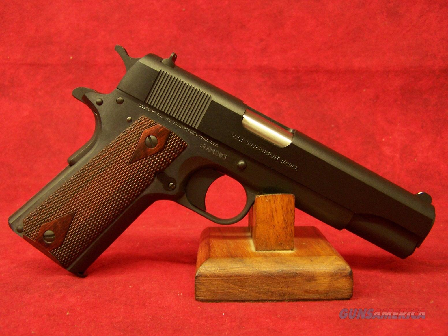 "COLT  1991  GOVERNMENT MODEL 9mm 5"" (01992)  Guns > Pistols > Colt Automatic Pistols (1911 & Var)"