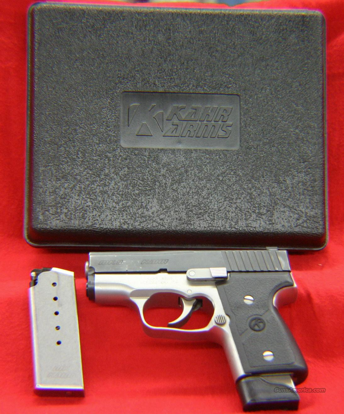 Kahr MK9 Two-Tone 9mm  Guns > Pistols > Kahr Pistols