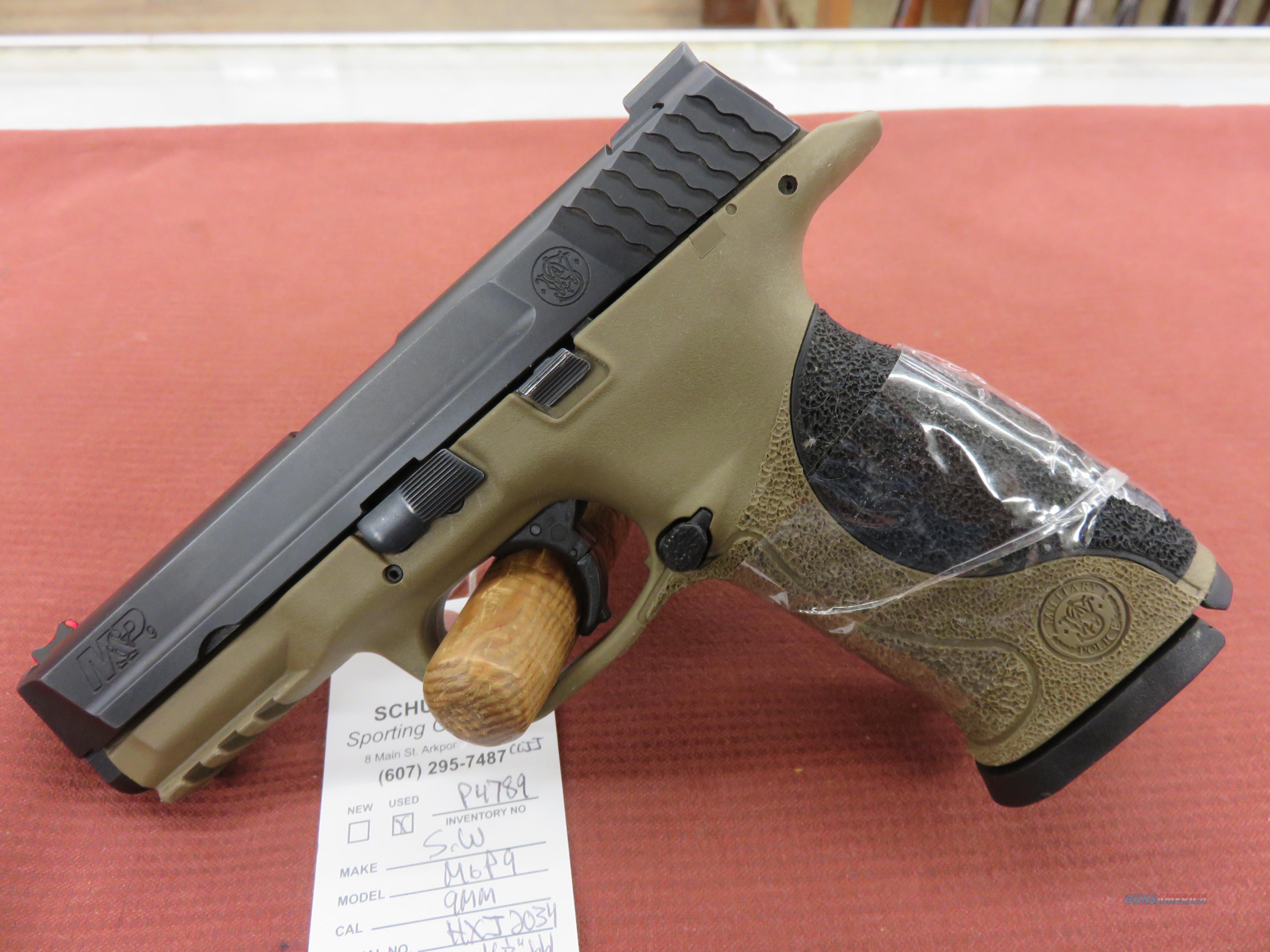 Smith & Wesson M&P9  Guns > Pistols > Smith & Wesson Pistols - Autos > Polymer Frame